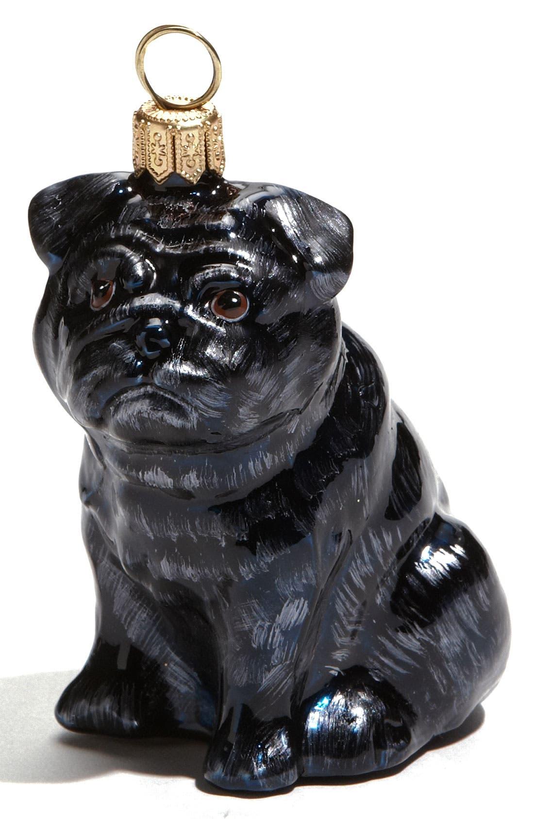 'Pug' Ornament,                         Main,                         color, No Color