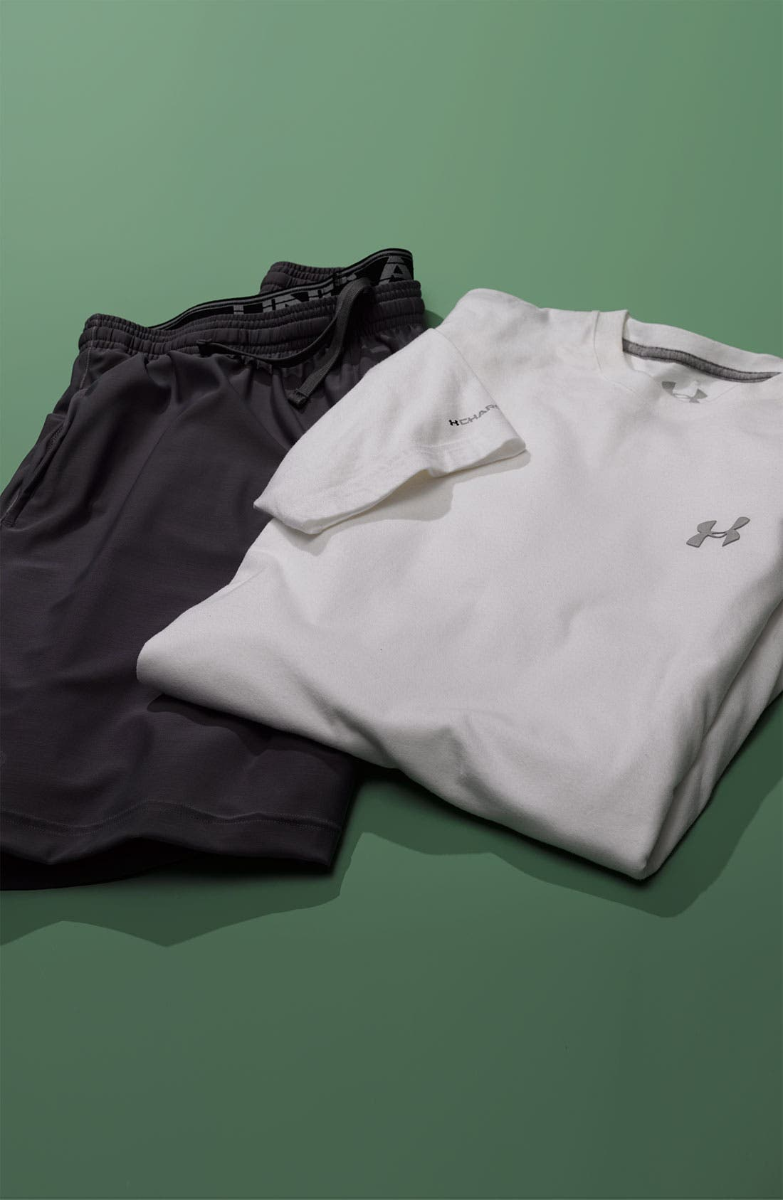 Alternate Image 2  - Under Armour 'Micro' HeatGear® Knit Shorts