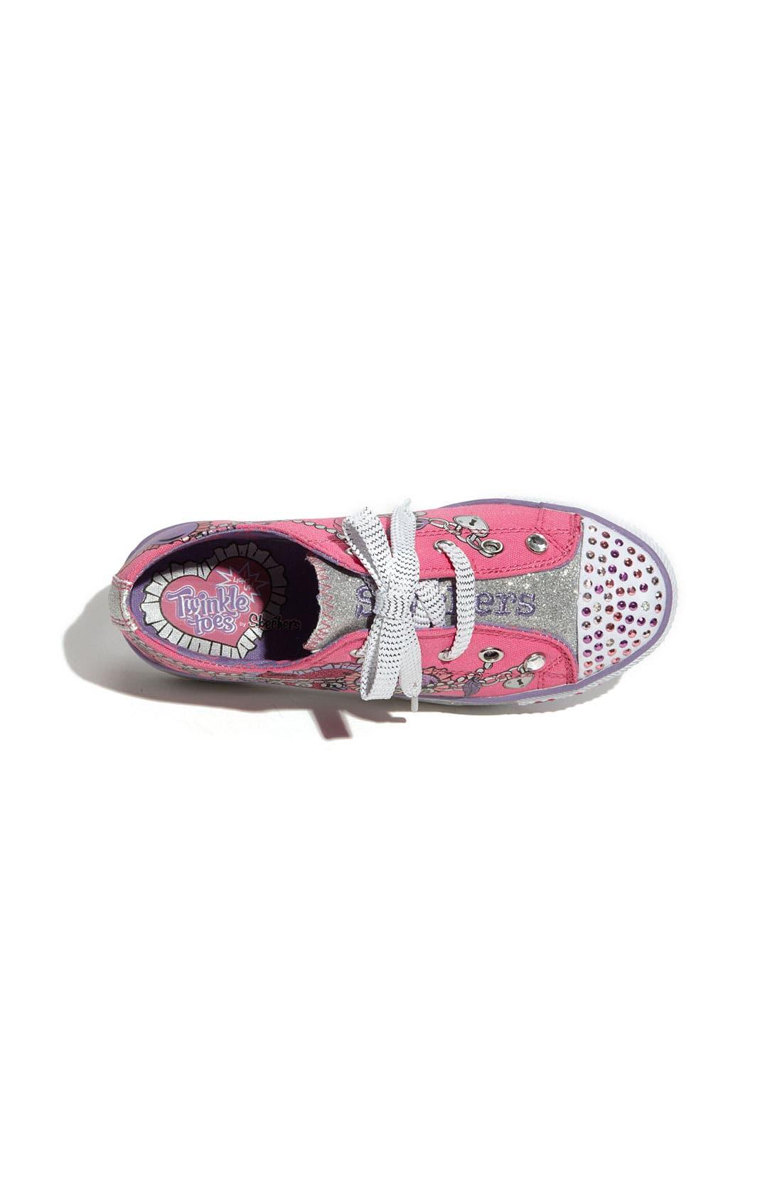 Alternate Image 3  - SKECHERS 'Peekaboo - Dream Jumper' Sneaker (Toddler, Little Kid & Big Kid)