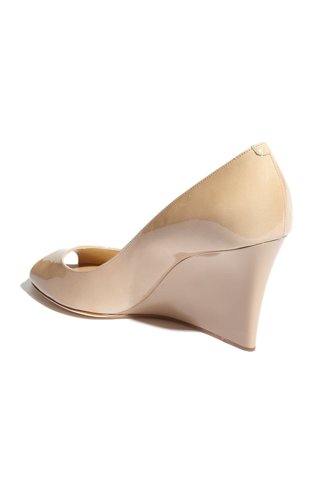 Alternate Image 2  - Jimmy Choo 'Baxen' Peep Toe Wedge