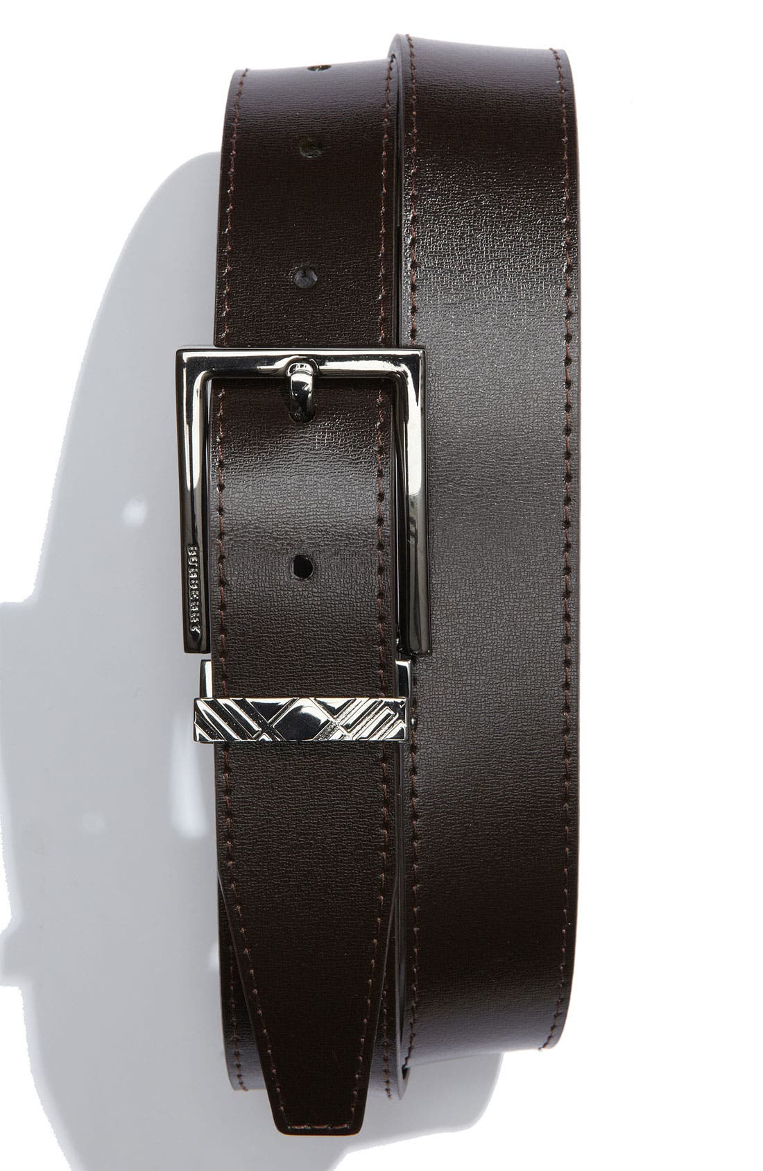 Main Image - Burberry Leather Belt