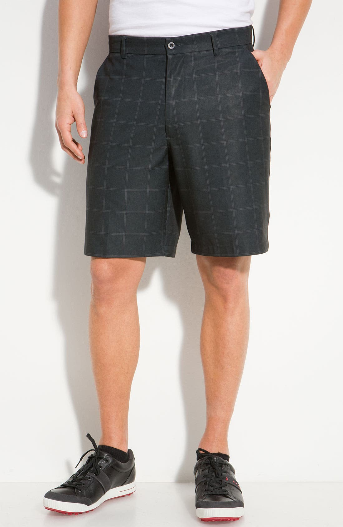 Main Image - Lone Cypress Pebble Beach Plaid Golf Shorts