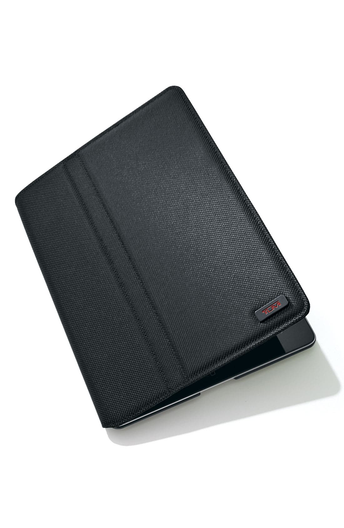 Ballistic Nylon iPad 2 Cover,                             Alternate thumbnail 2, color,                             Black
