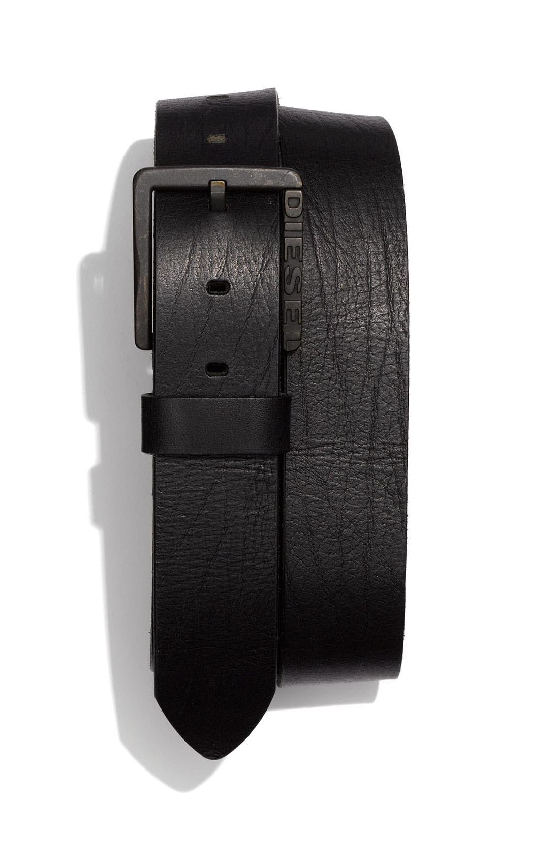 Alternate Image 1 Selected - DIESEL® 'Bentley Service' Belt