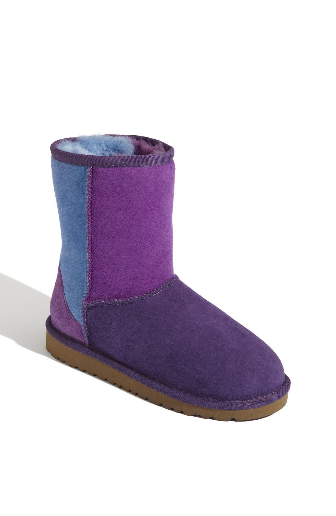 Alternate Image 1 Selected - UGG® 'Classic Short - Patchwork' Boot (Walker)
