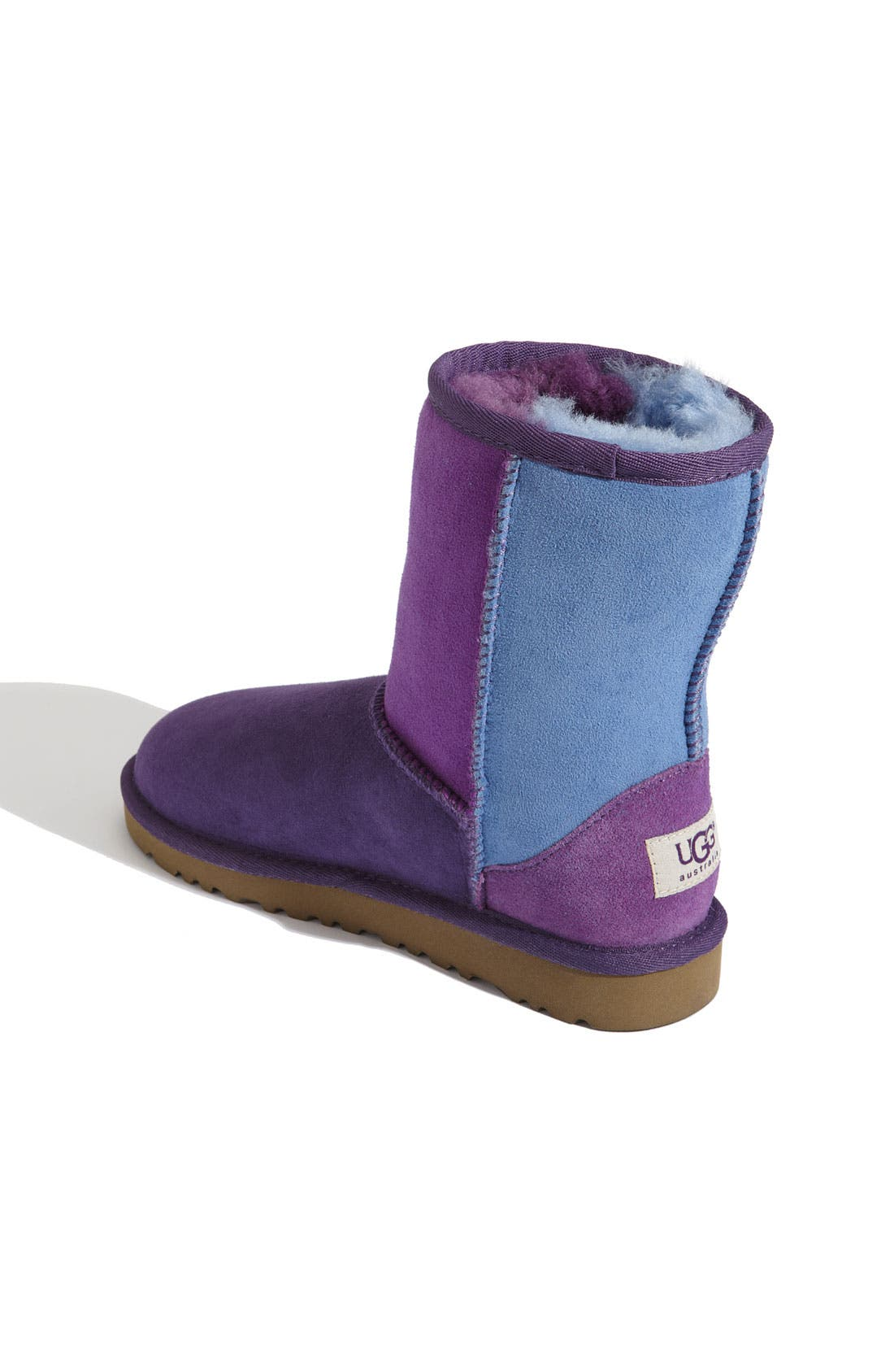Alternate Image 2  - UGG® 'Classic Short - Patchwork' Boot (Walker)