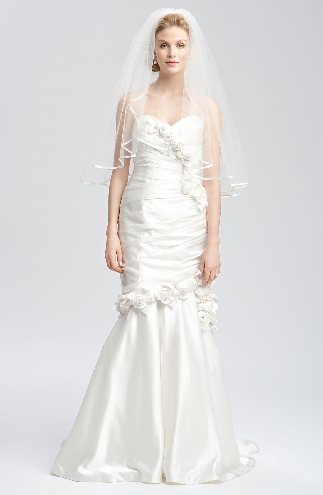 Alternate Image 5  - Faviana 'Eva' Convertible Satin Gown