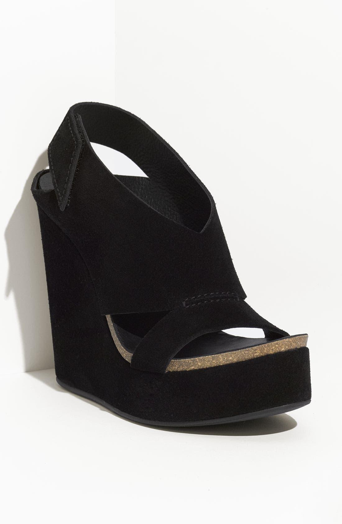 Main Image - Pedro Garcia 'Tamesis' Velour Sandal