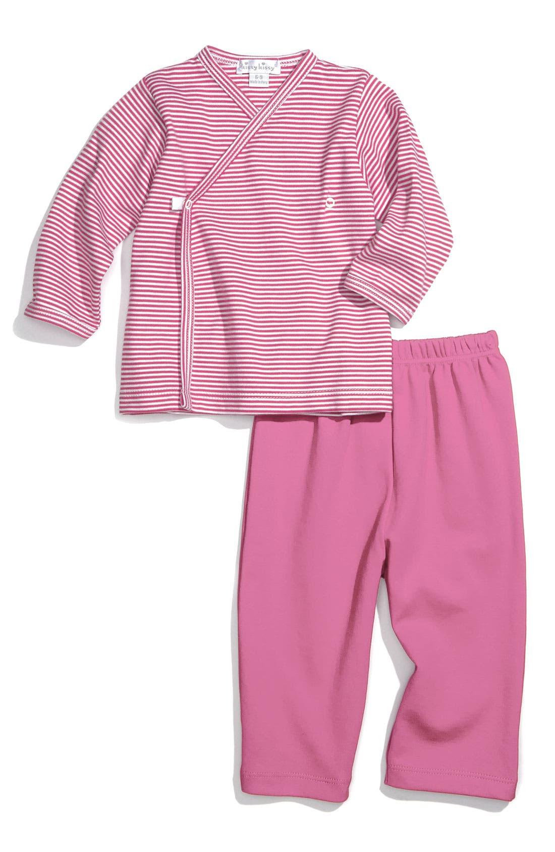 Alternate Image 1 Selected - Kissy Kissy Top & Pants Set (Baby)