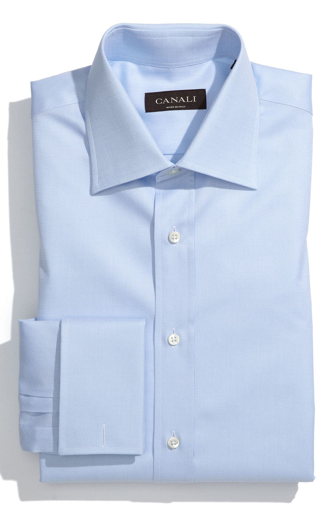 Main Image - Canali Regular Fit Dress Shirt