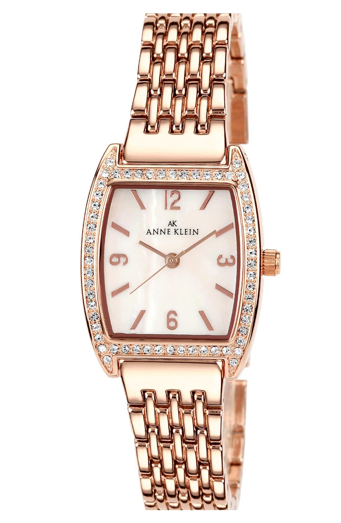 Main Image - Anne Klein Tonneau Bracelet Watch