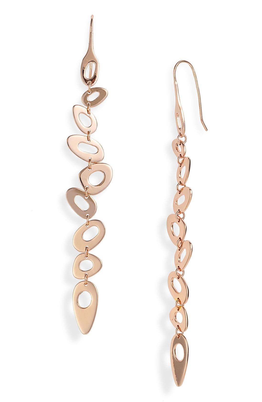 Main Image - Ippolita 'Lite Links' Small Multi Shape Long Rosé Earrings