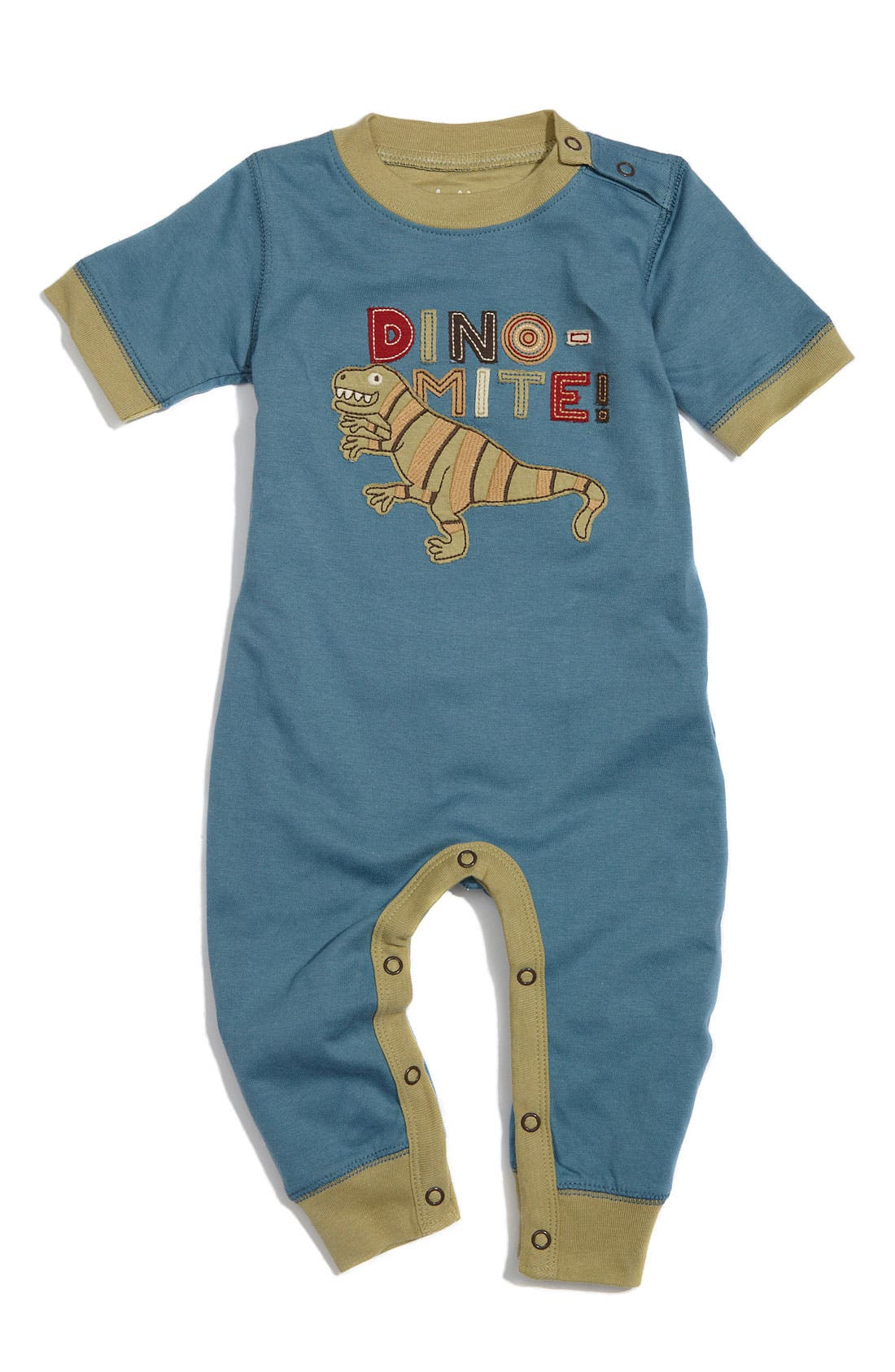 Alternate Image 1 Selected - Hatley Fitted Romper (Baby)