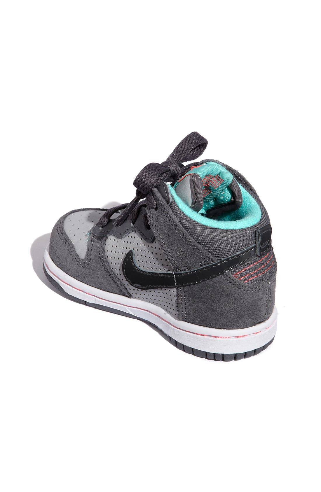 Alternate Image 2  - Nike 'Dunk High' Sneaker (Baby, Walker & Toddler)