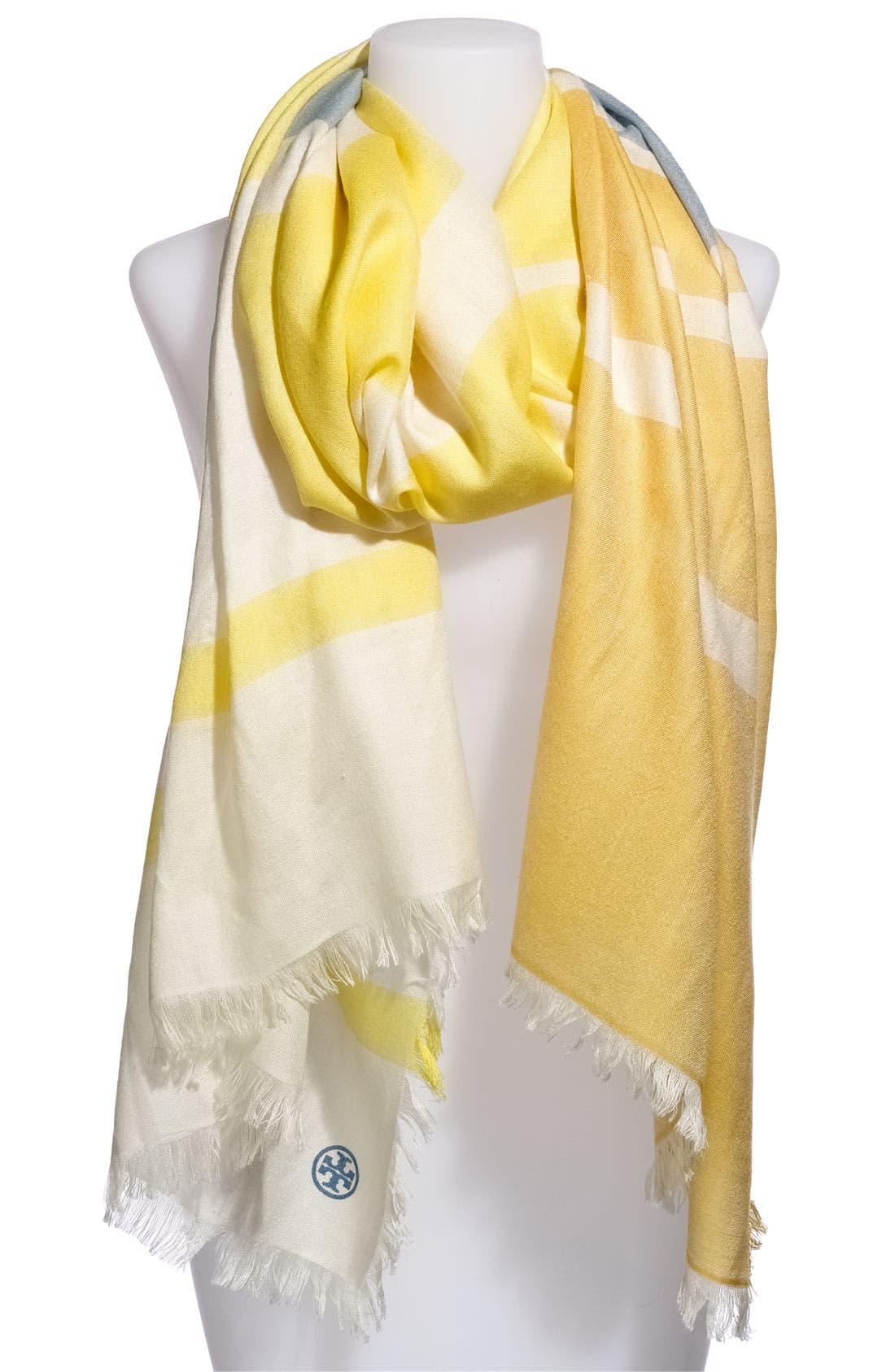 Alternate Image 1 Selected - Tory Burch Wool & Silk Scarf