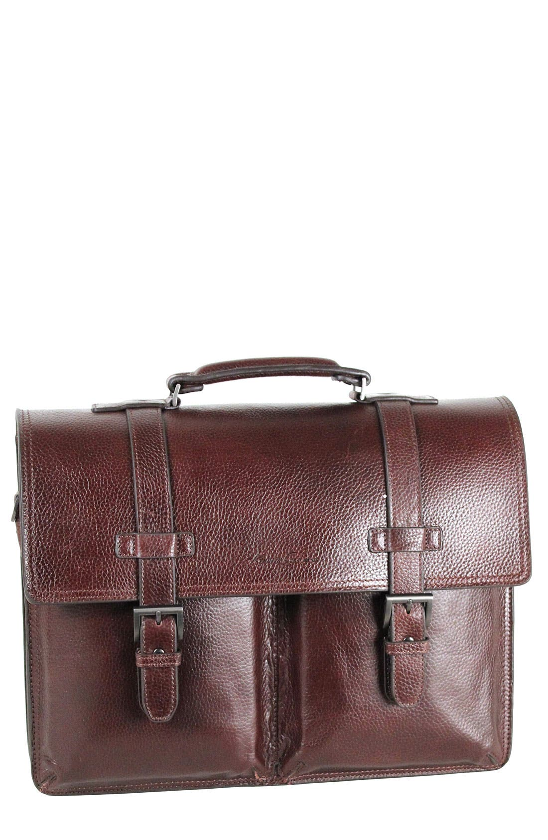 Alternate Image 1 Selected - Kenneth Cole New York 'Heritage' Double Gusset Flap Portfolio
