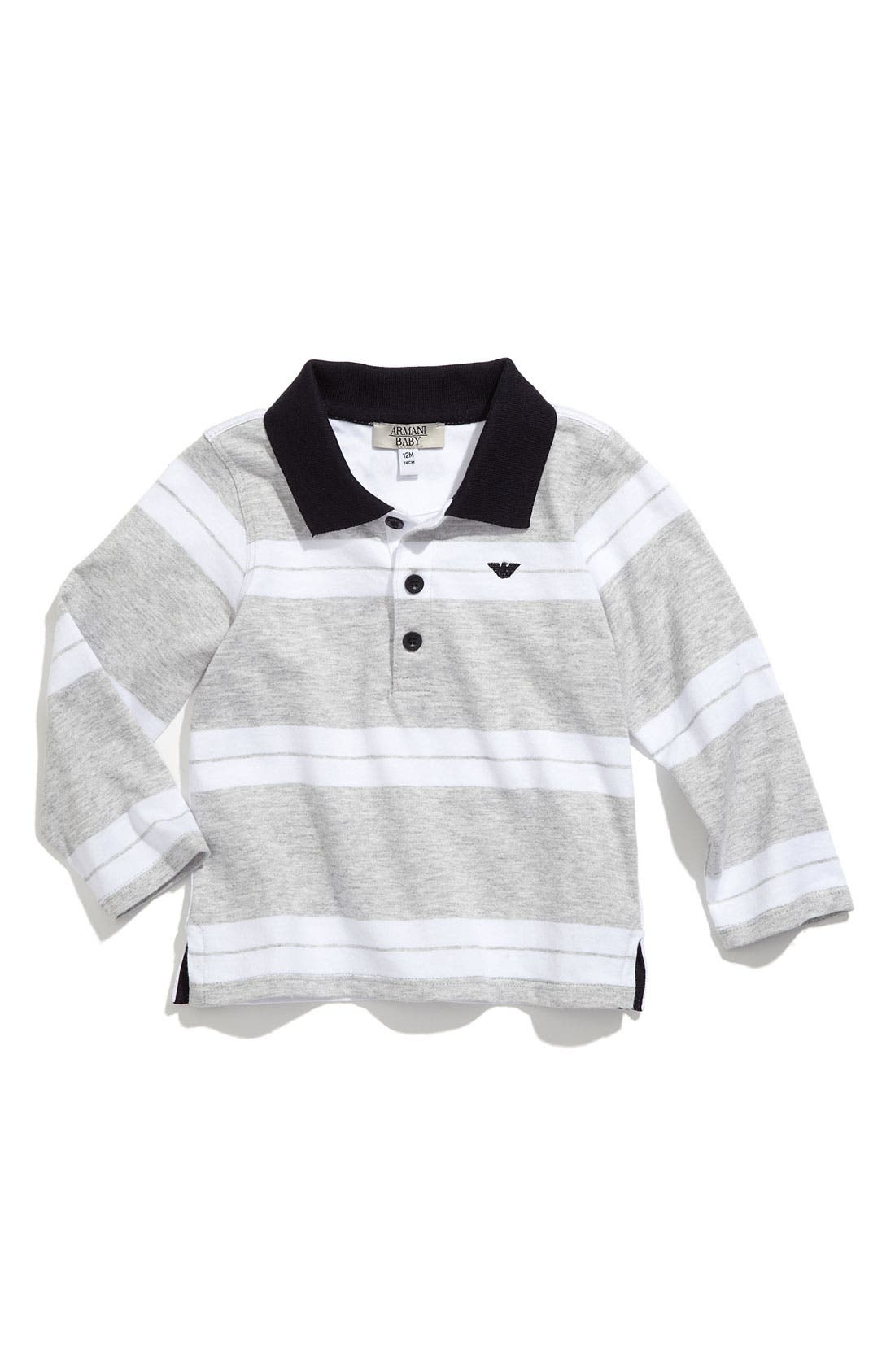 Alternate Image 1 Selected - Armani Junior Polo (Infant)