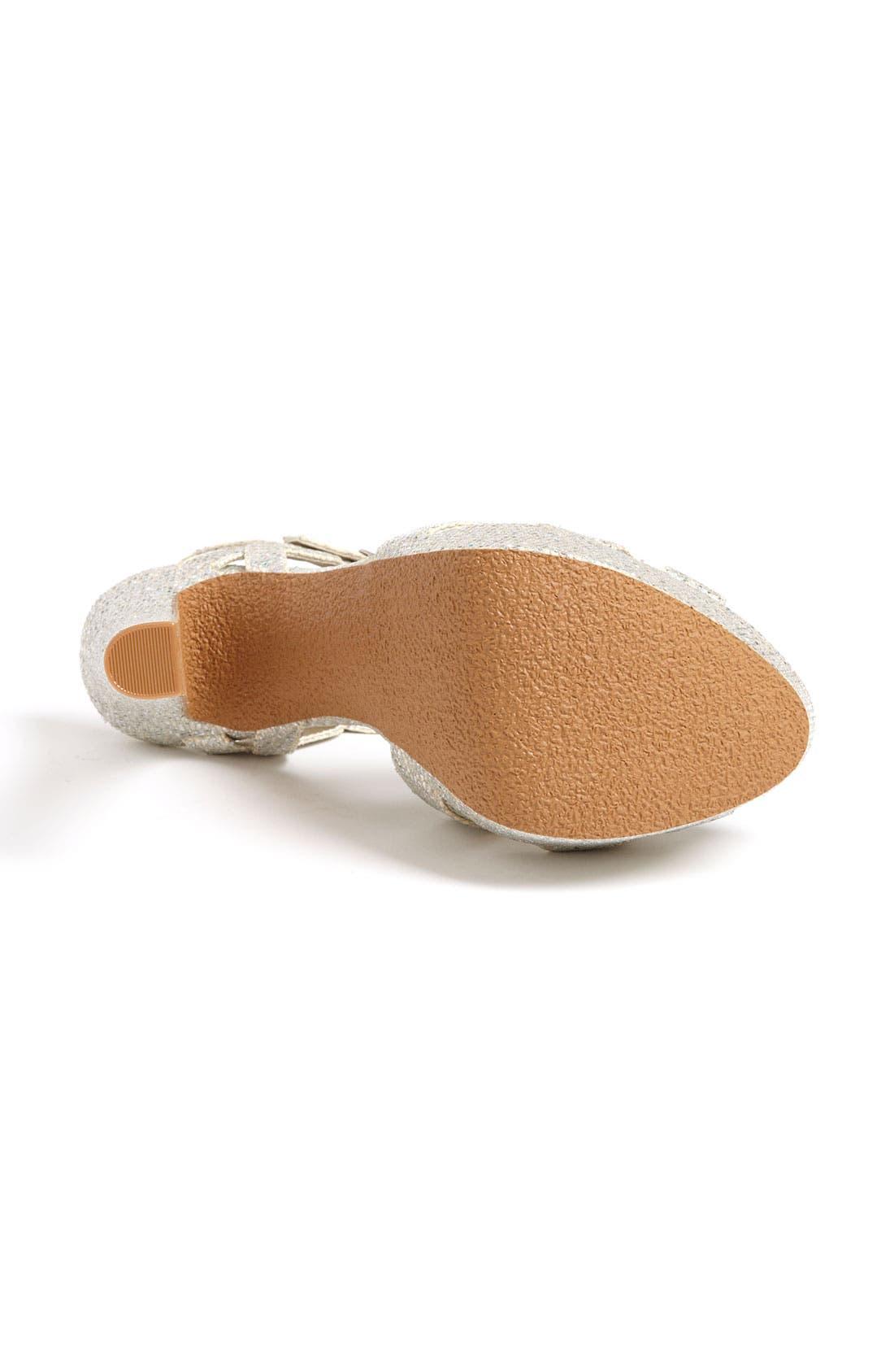 Alternate Image 4  - BP. 'Glow' Platform Sandal