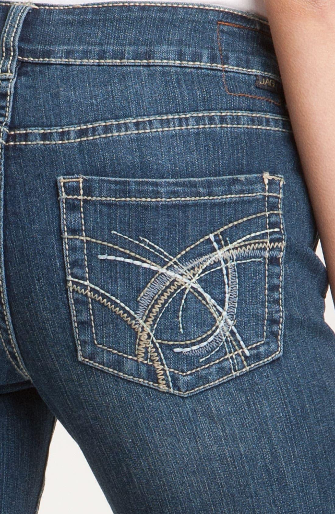 Alternate Image 3  - Jag Jeans 'Selma' Crop Jeans (Petite)