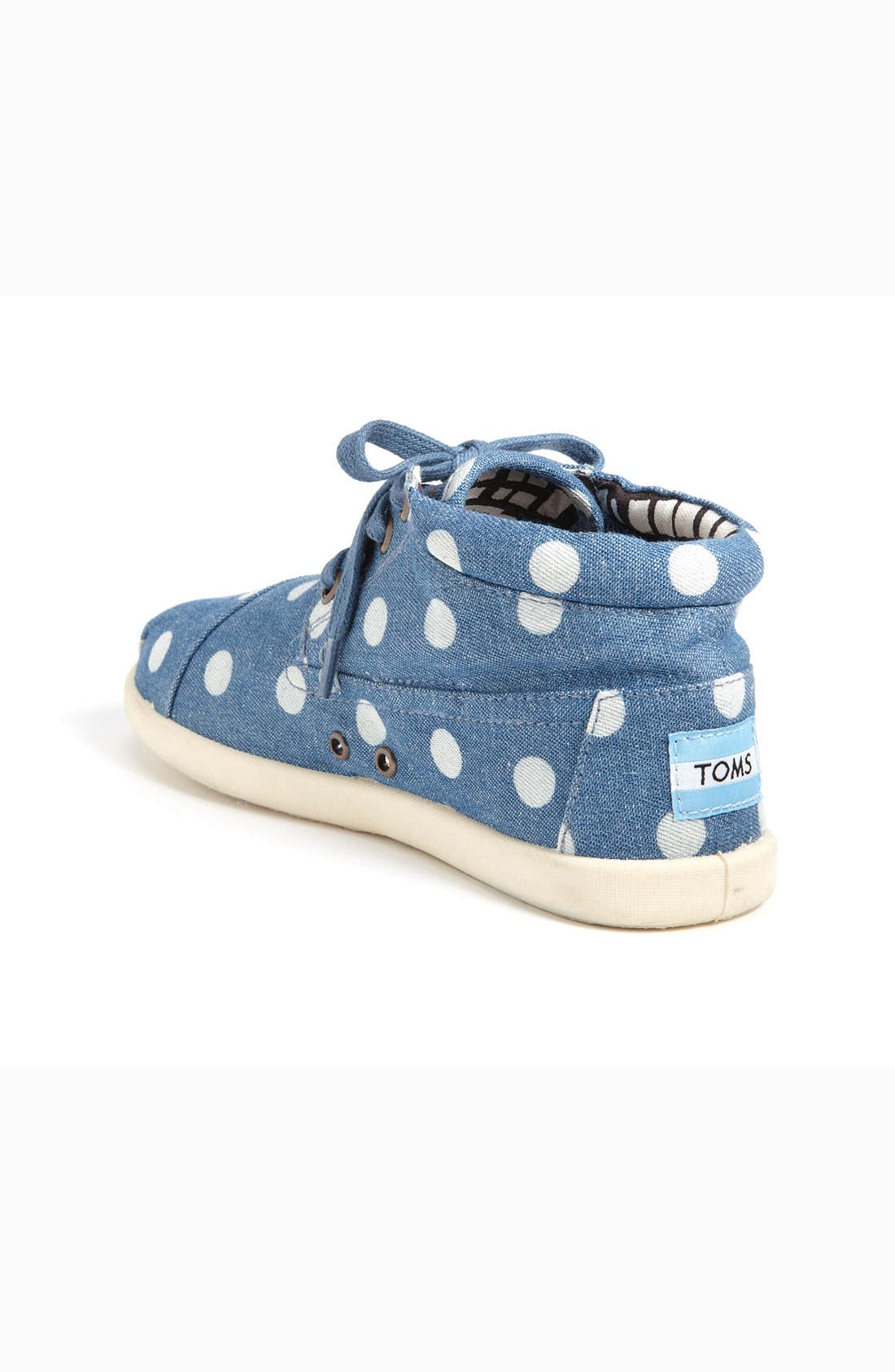 Alternate Image 2  - TOMS 'Botas Youth - Marley' Canvas Boot (Toddler, Little Kid & Big Kid)