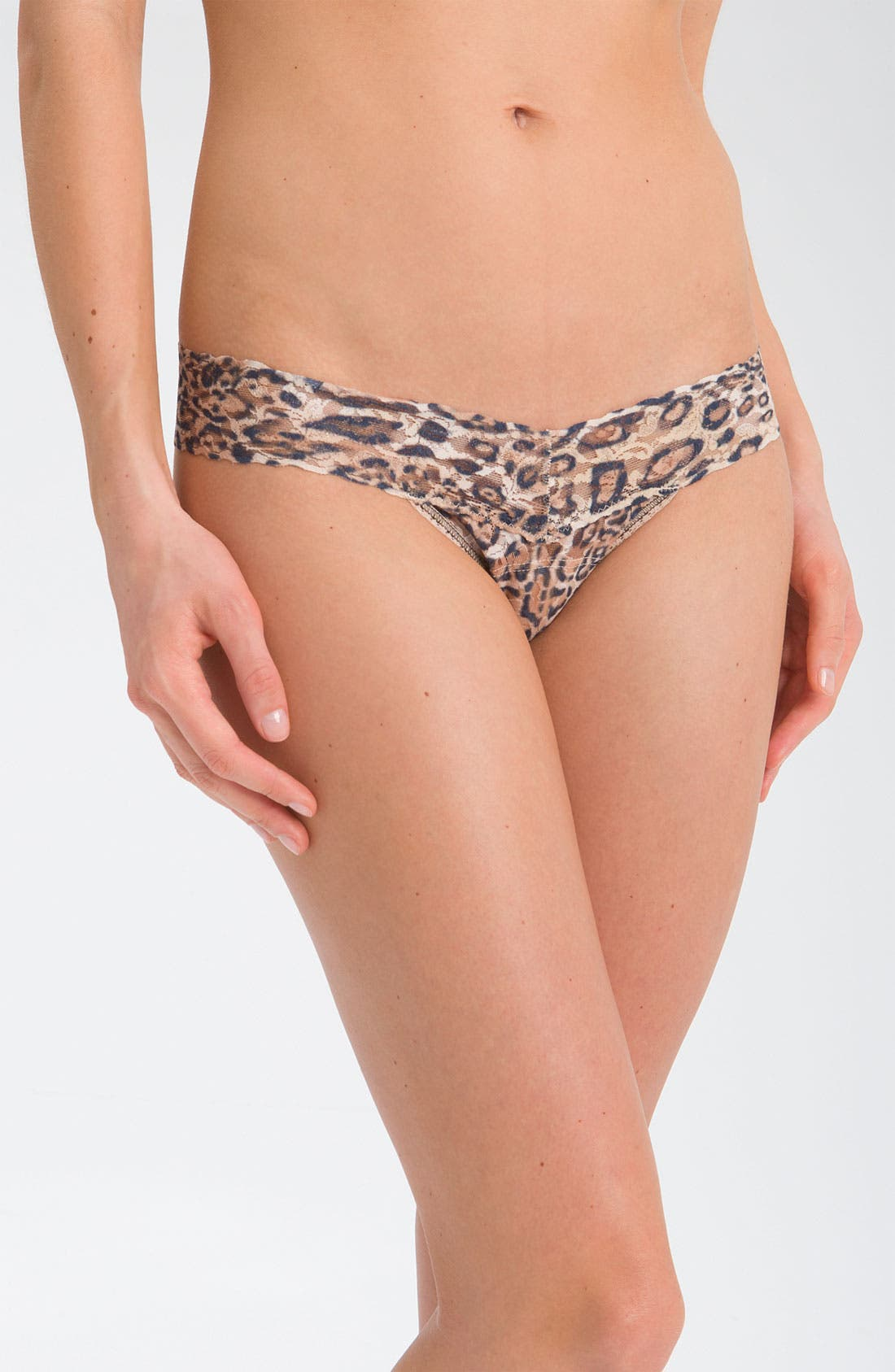 Main Image - Hanky Panky 'Leopard' Low Rise Thong