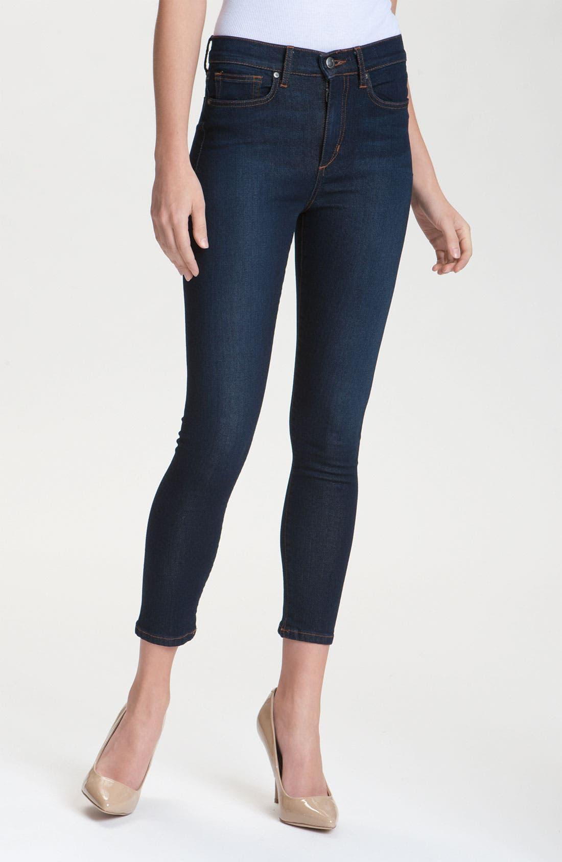 Alternate Image 1 Selected - Joe's 'High Water' Skinny Crop Jeans (Yasmin)
