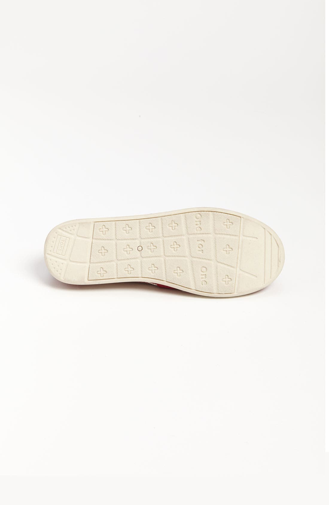Alternate Image 4  - TOMS 'Classic Youth - University' Canvas Slip-On (Toddler, Little Kid & Big Kid) (Nordstrom Exclusive)
