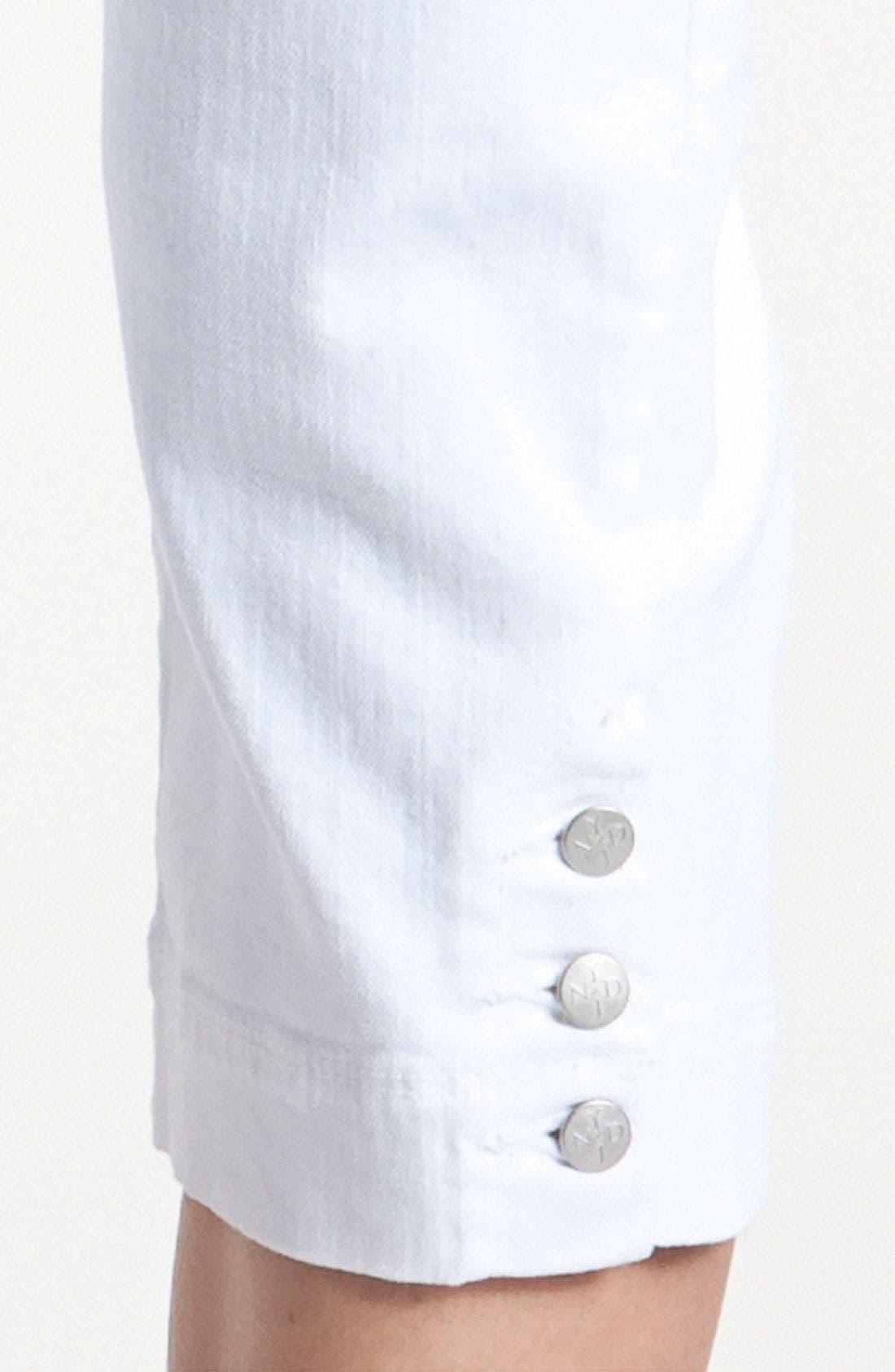 Alternate Image 3  - NYDJ 'Cameron' Crop Stretch Jeans