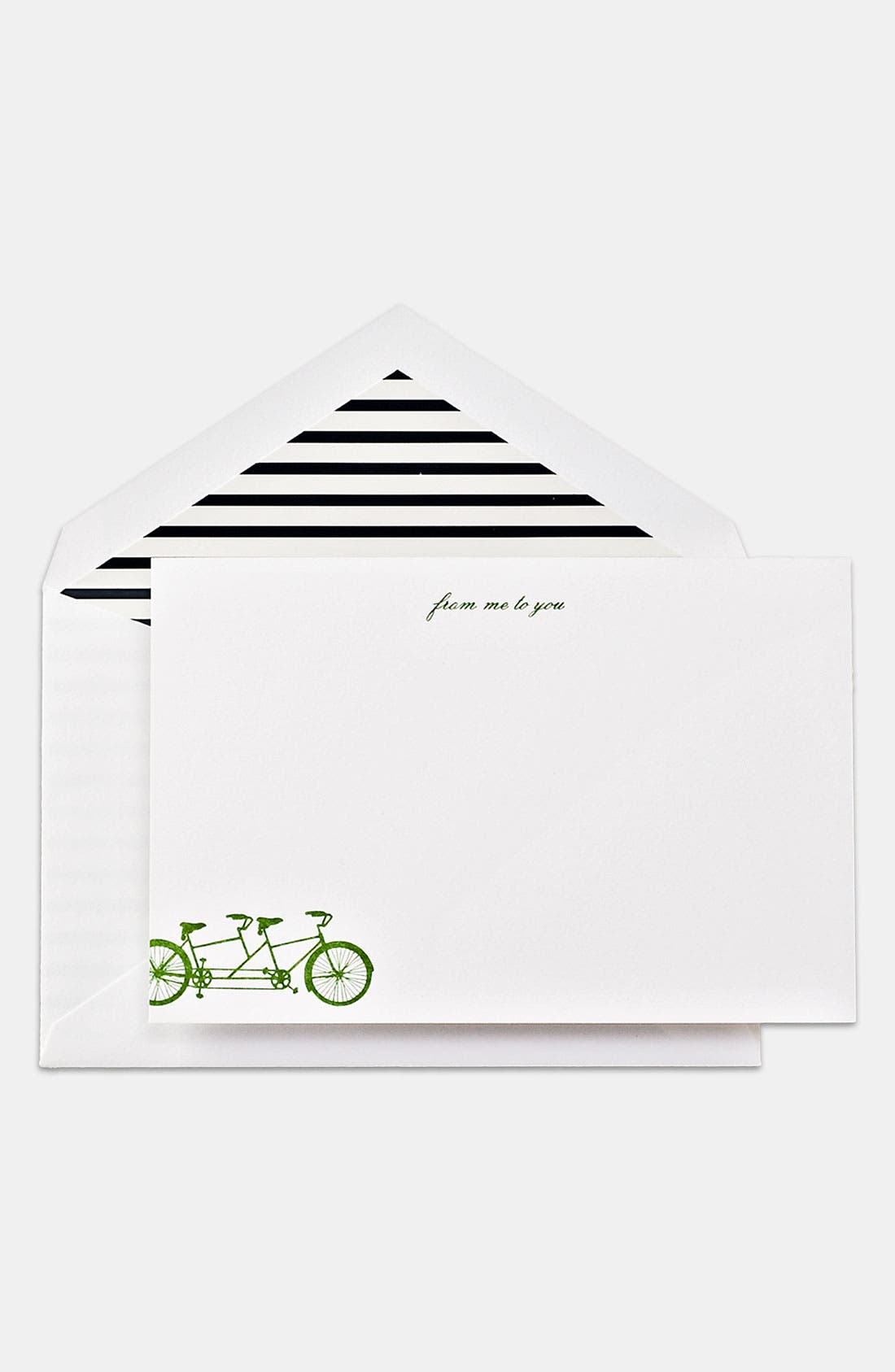 Alternate Image 1 Selected - kate spade new york 'from me to you' note cards (10-pack)