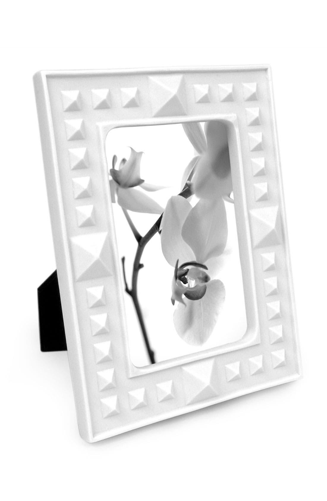 Alternate Image 1 Selected - Jonathan Adler 4x6 Studded Porcelain Frame