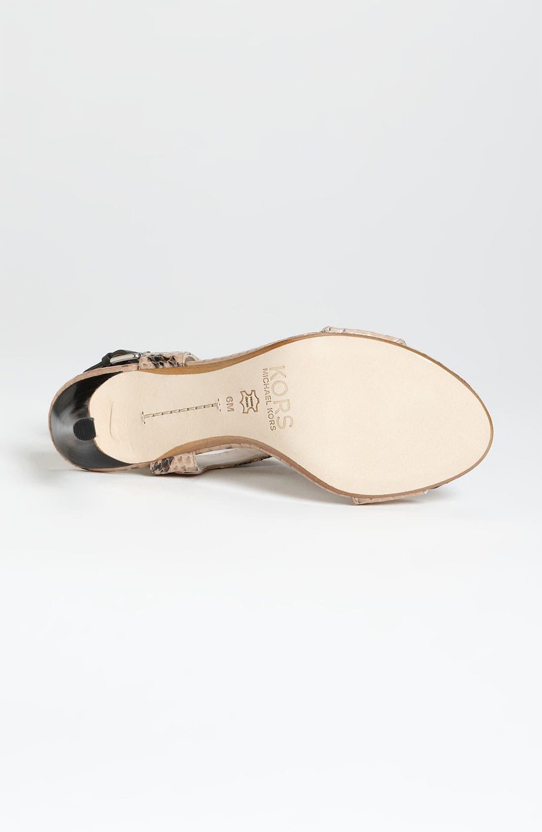 Alternate Image 4  - KORS Michael Kors 'Xyla' Sandal