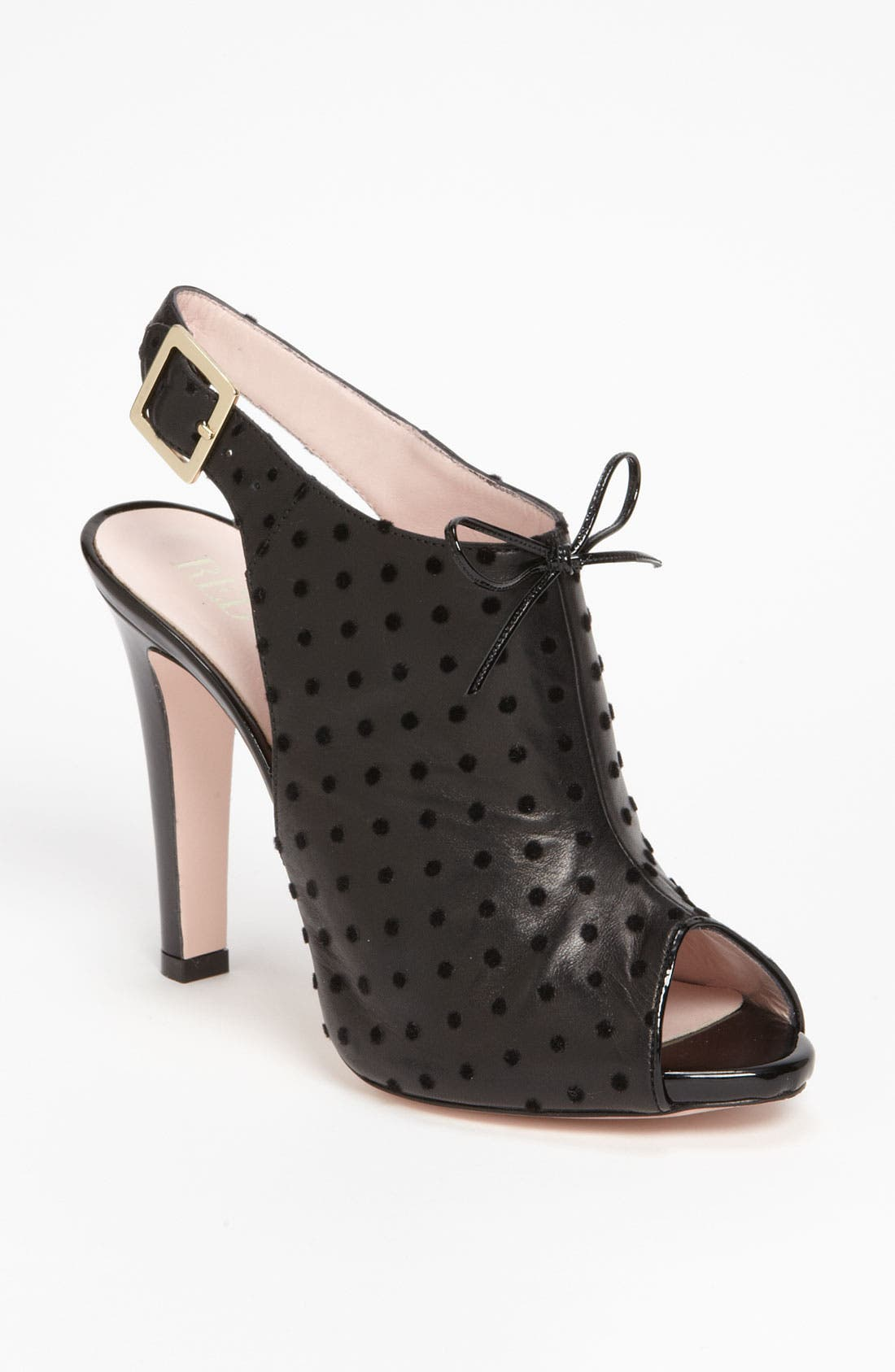Alternate Image 1 Selected - RED Valentino Peep Toe Sandal