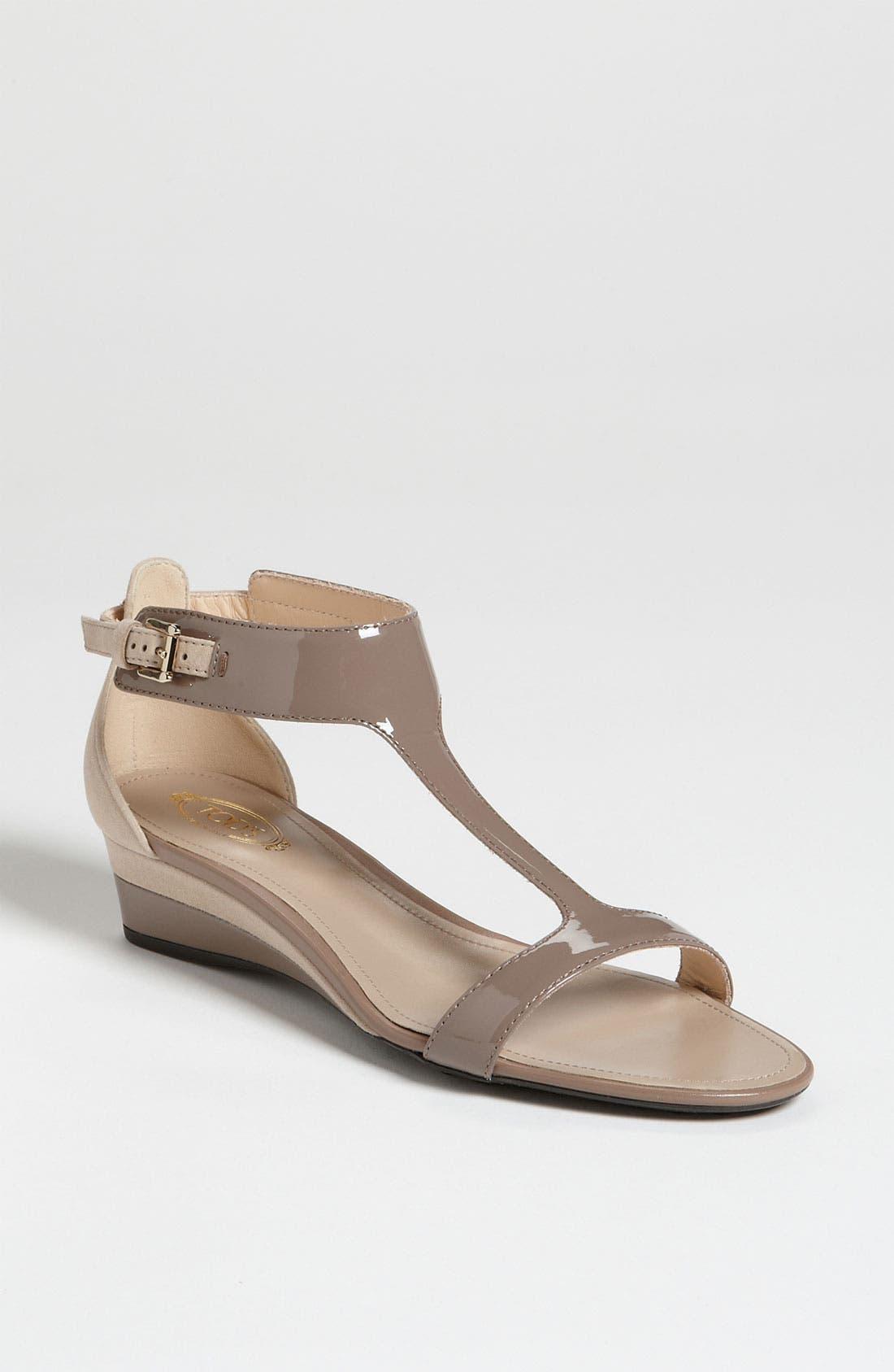 Main Image - Tod's T-Strap Sandal