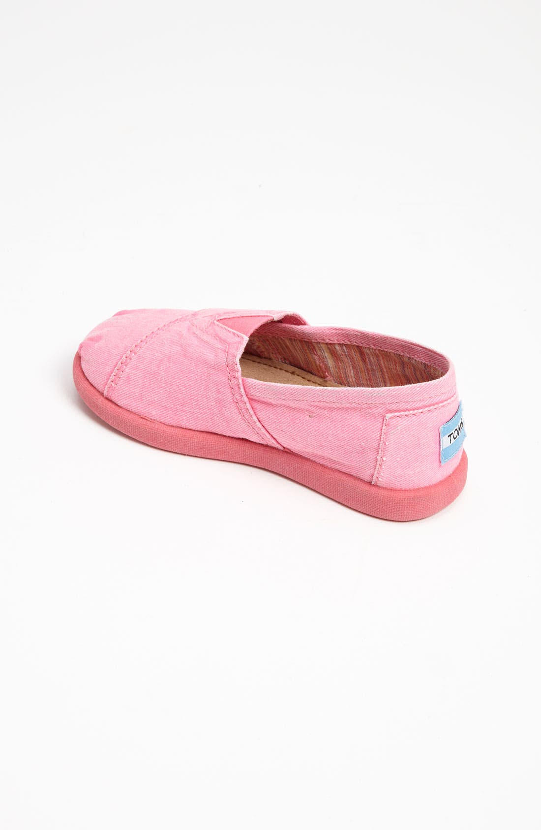Alternate Image 2  - TOMS 'Classic Tiny - Palmetto' Canvas Slip-On (Baby, Walker & Toddler)