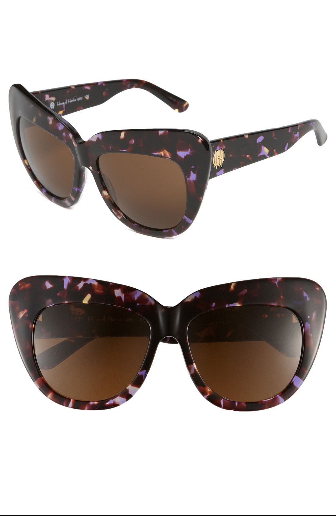 'Chelsea' Cat's Eye Sunglasses,                         Main,                         color, Bloom
