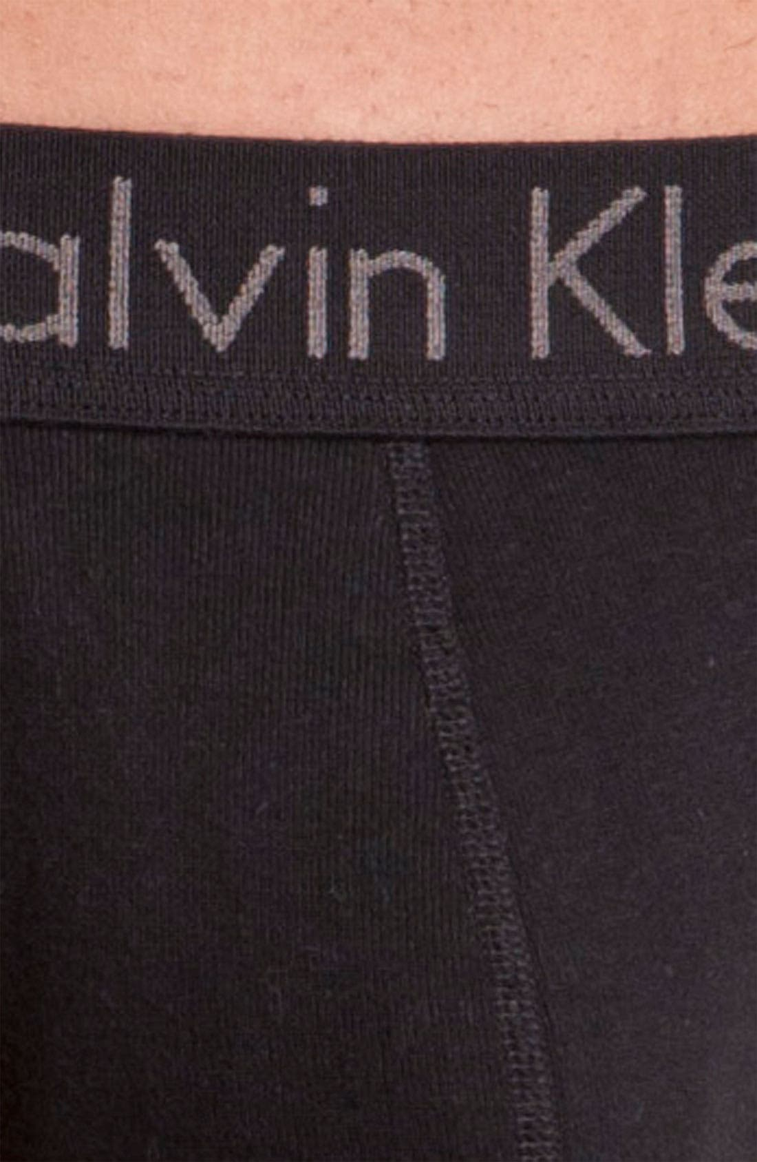 Alternate Image 2  - Calvin Klein Thong (Online Only)