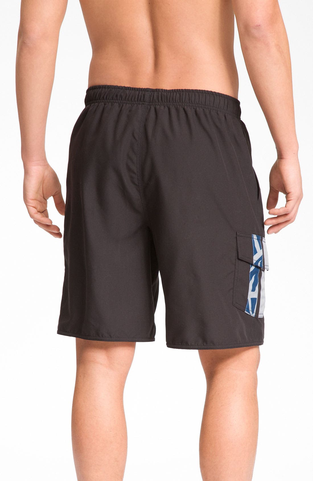 Alternate Image 2  - Quiksilver Waterman Collection 'Avalanche' Swim Trunks