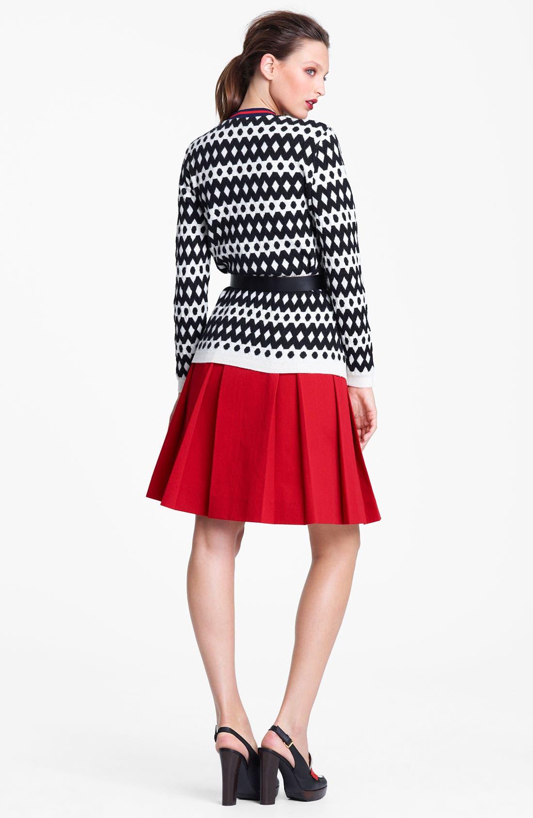 Alternate Image 5  - Marni Edition Contrast Waist Gabardine Skirt