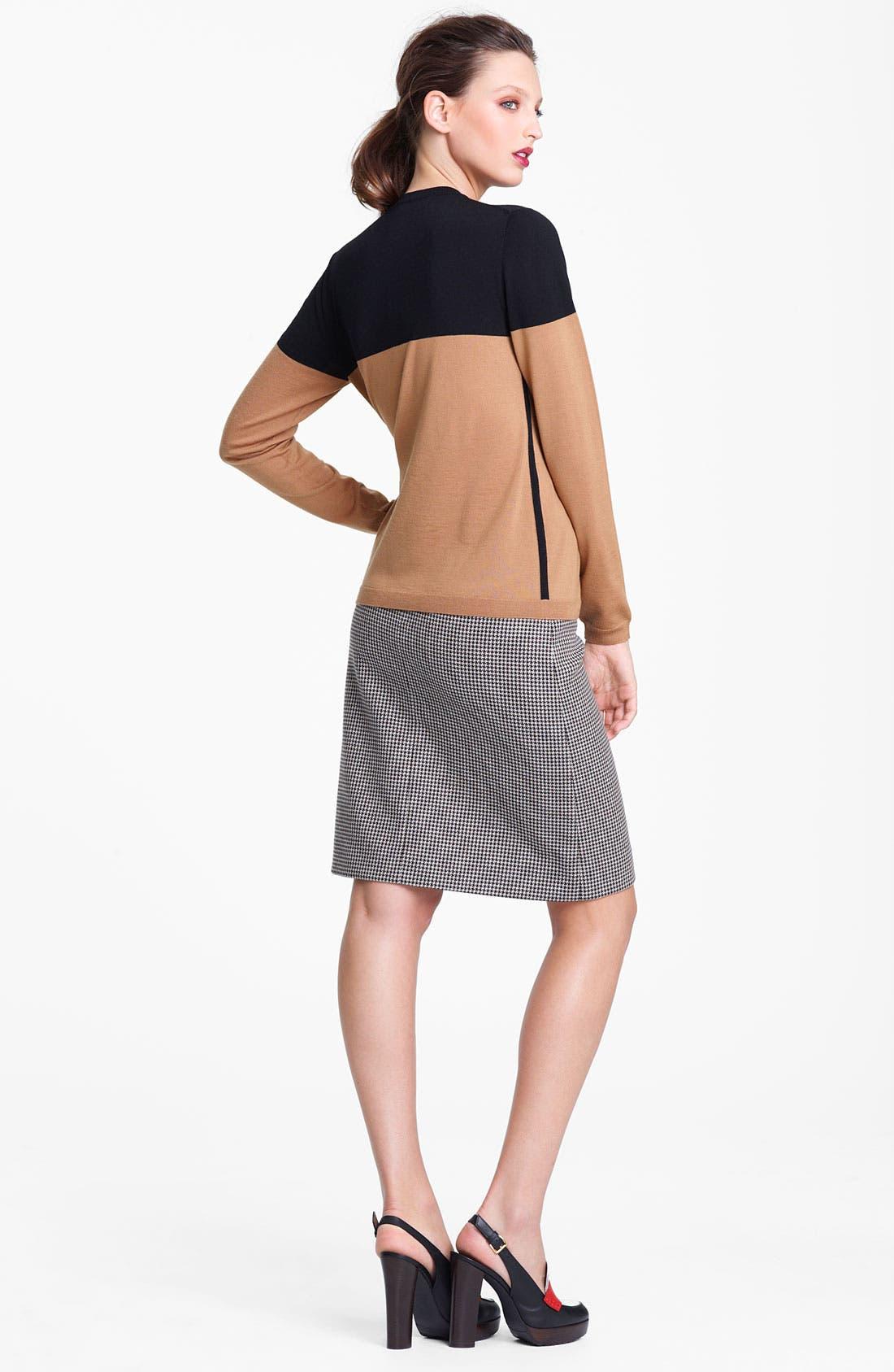Alternate Image 8  - Marni Edition Houndstooth Pencil Skirt