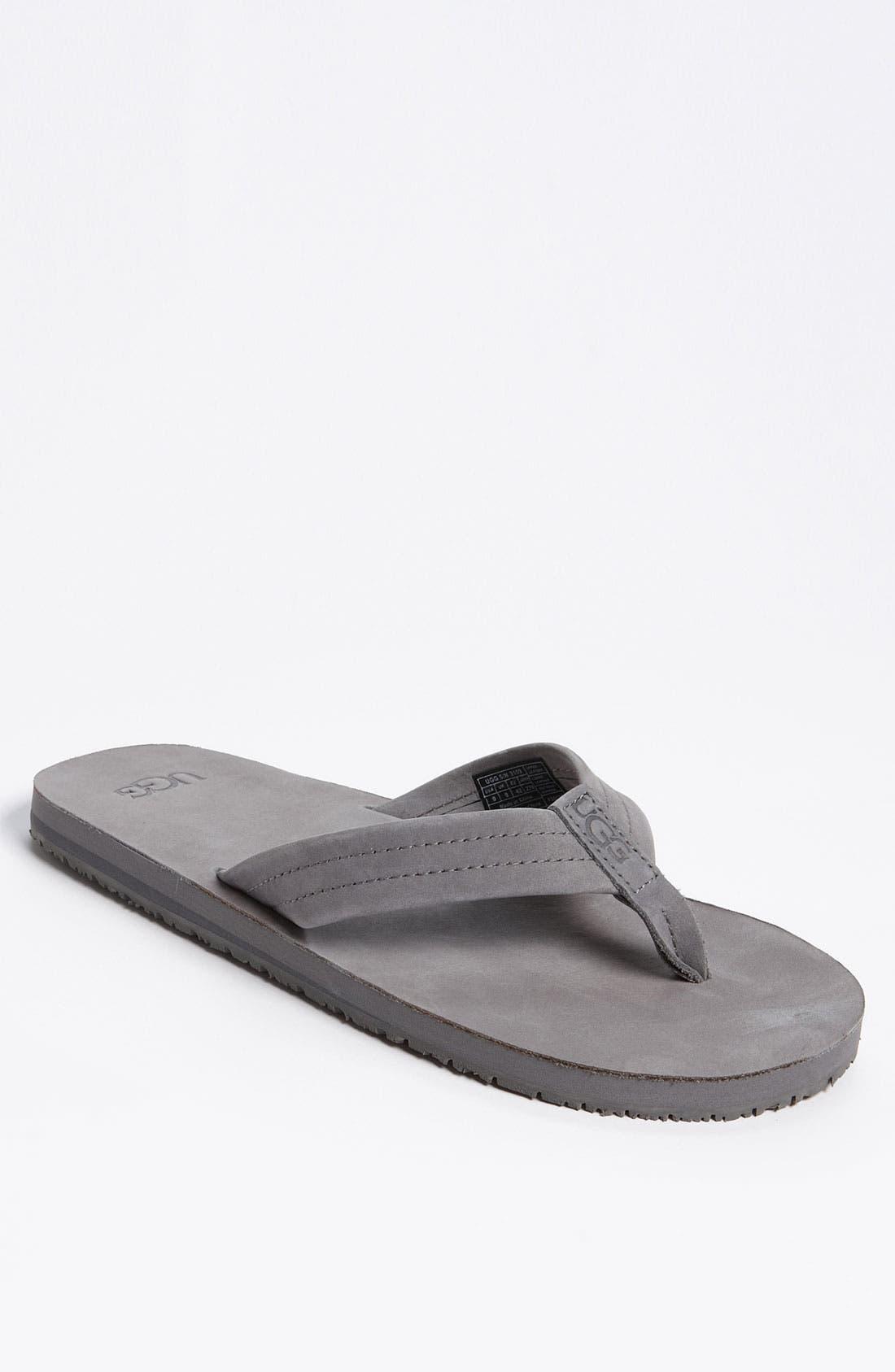 Alternate Image 1 Selected - UGG® Australia 'Camano' Flip Flop (Men)
