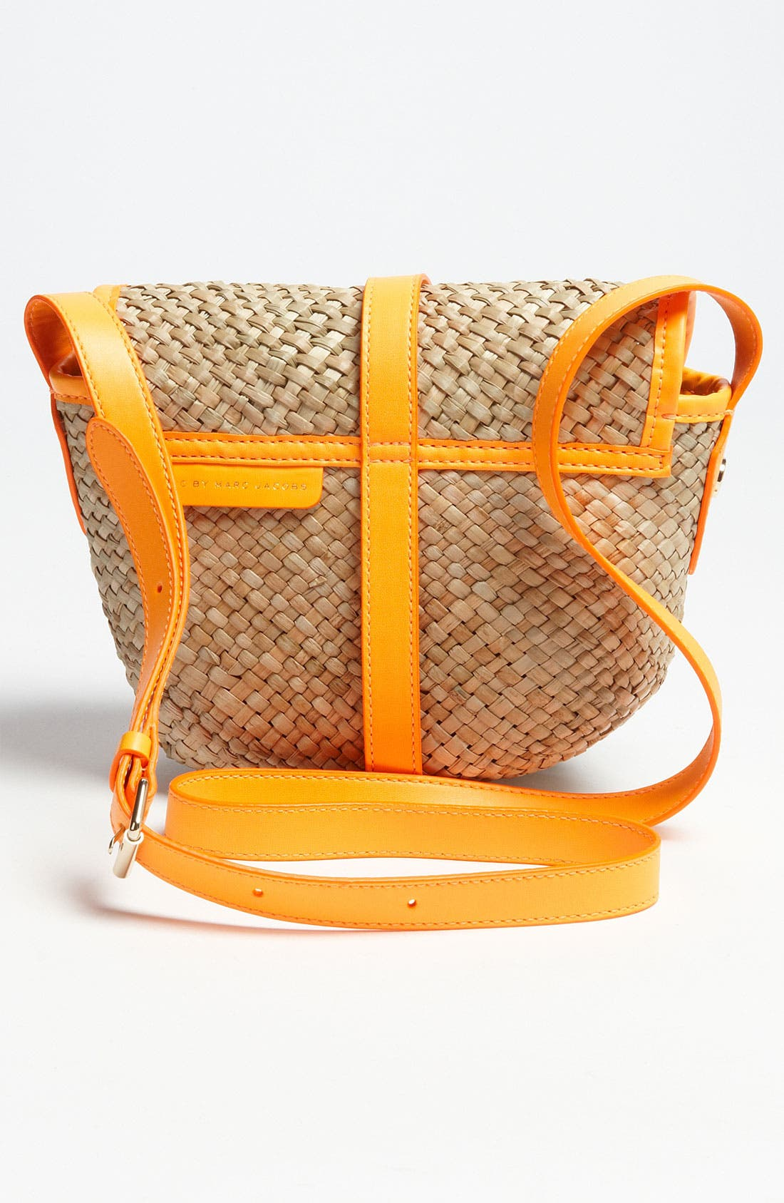 Alternate Image 4  - MARC BY MARC JACOBS 'Preppy' Straw Canteen Bag