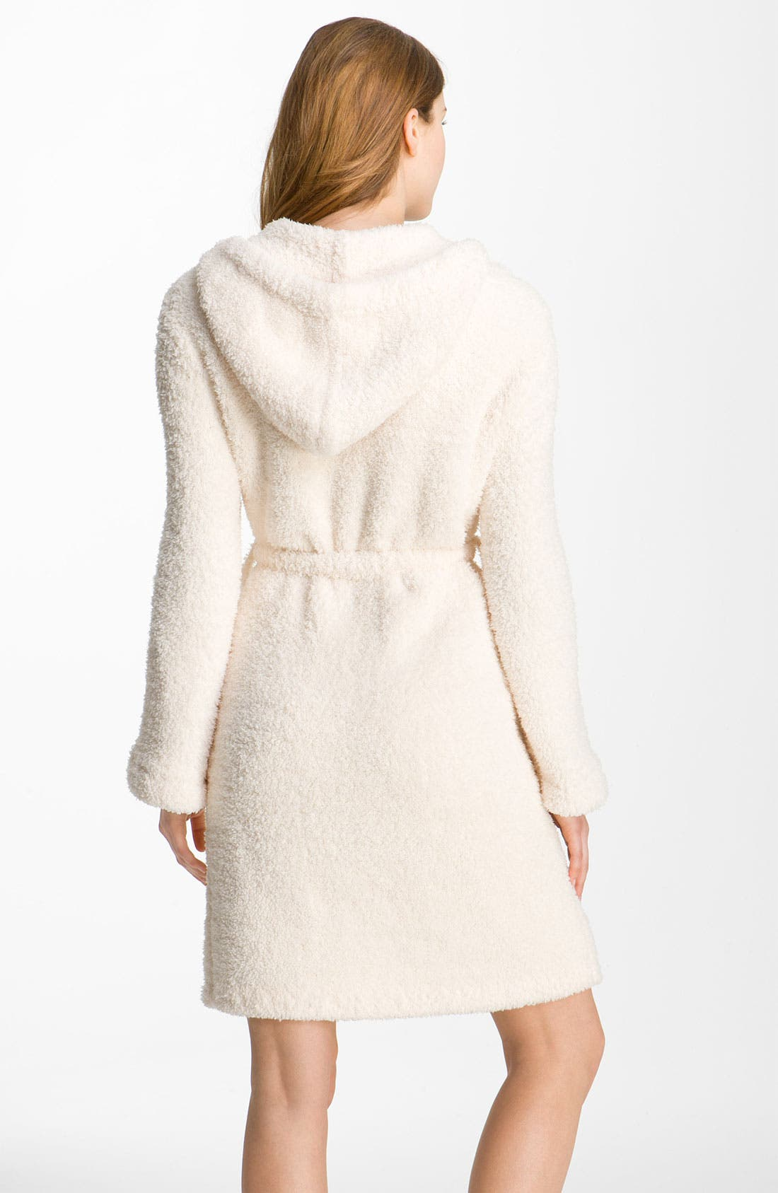 Alternate Image 2  - Barefoot Dreams® CozyChic® Short Hooded Robe