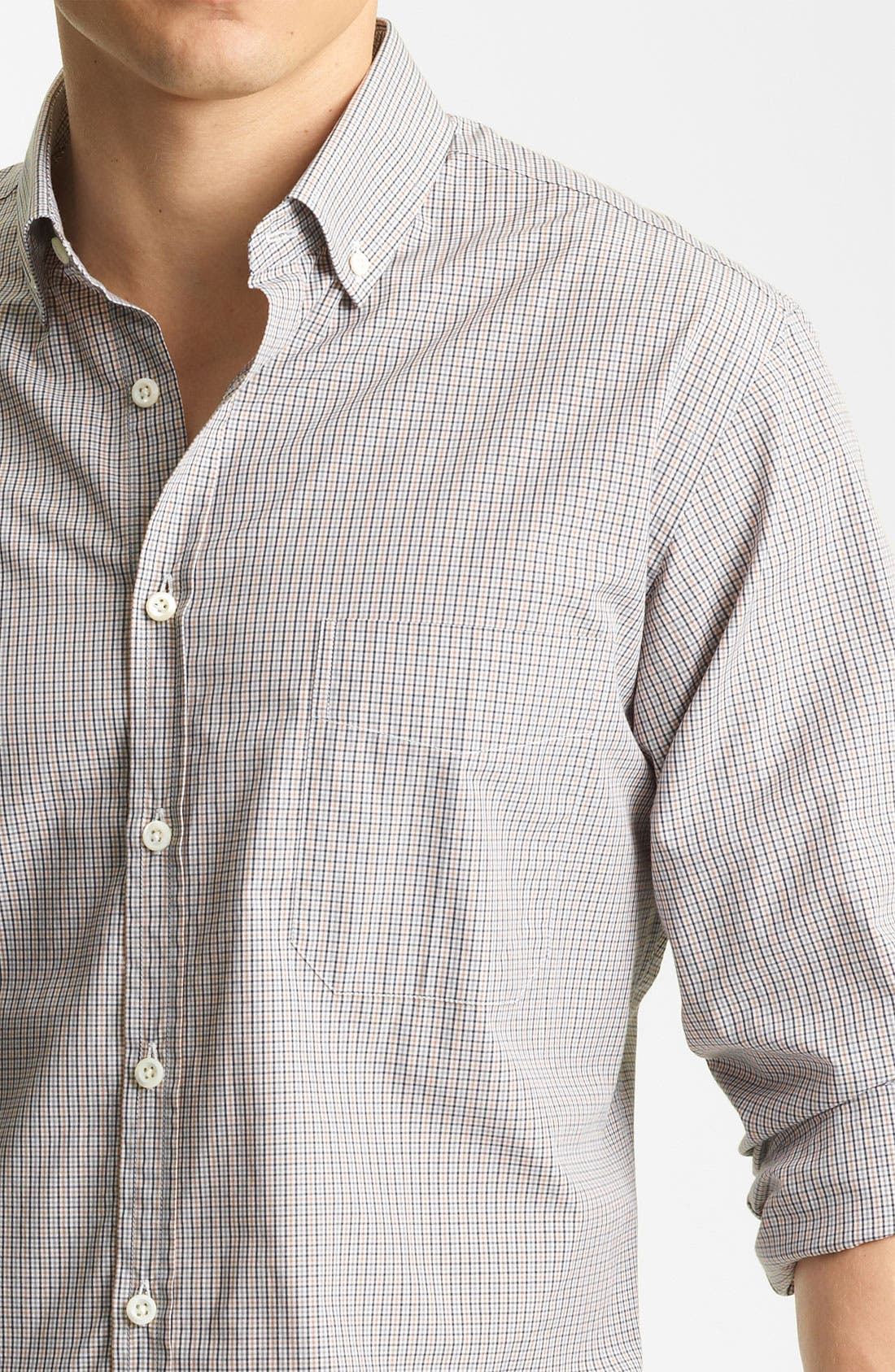 Alternate Image 3  - Billy Reid 'Rosedale' Micro Check Woven Shirt