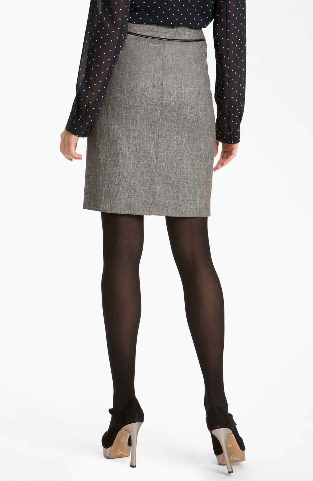 Alternate Image 2  - Halogen® Two Tone Pencil Skirt