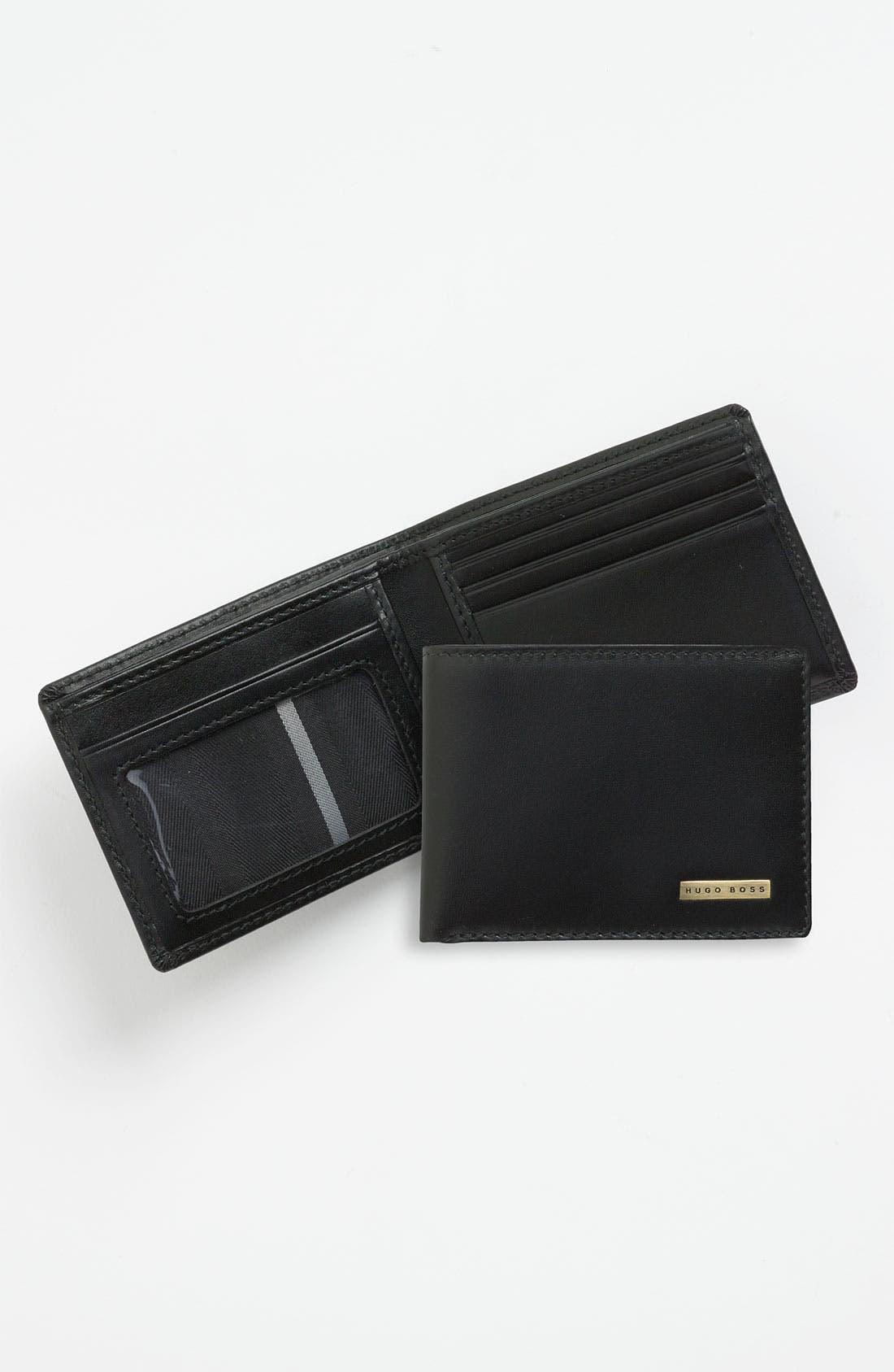 Main Image - BOSS 'Bengio' Leather Bifold Wallet
