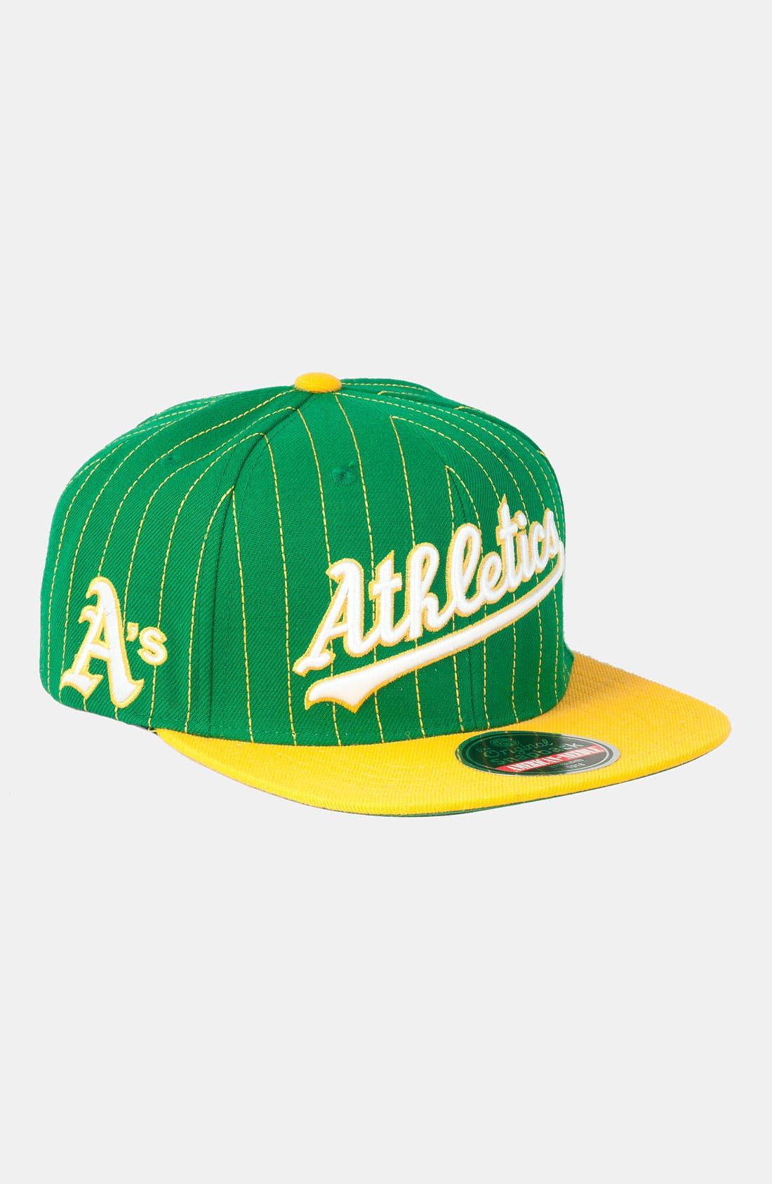 Main Image - American Needle 'Athletics' Snapback Baseball Cap