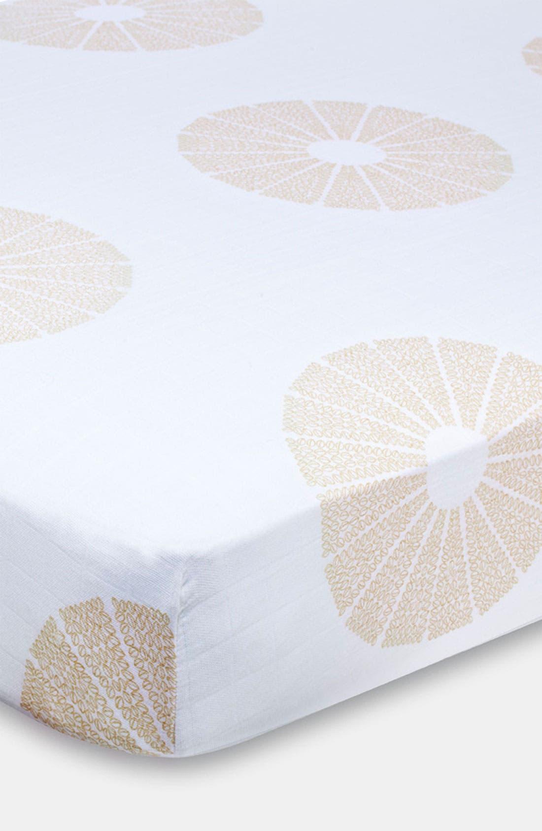 Main Image - aden + anais Organic Crib Sheet