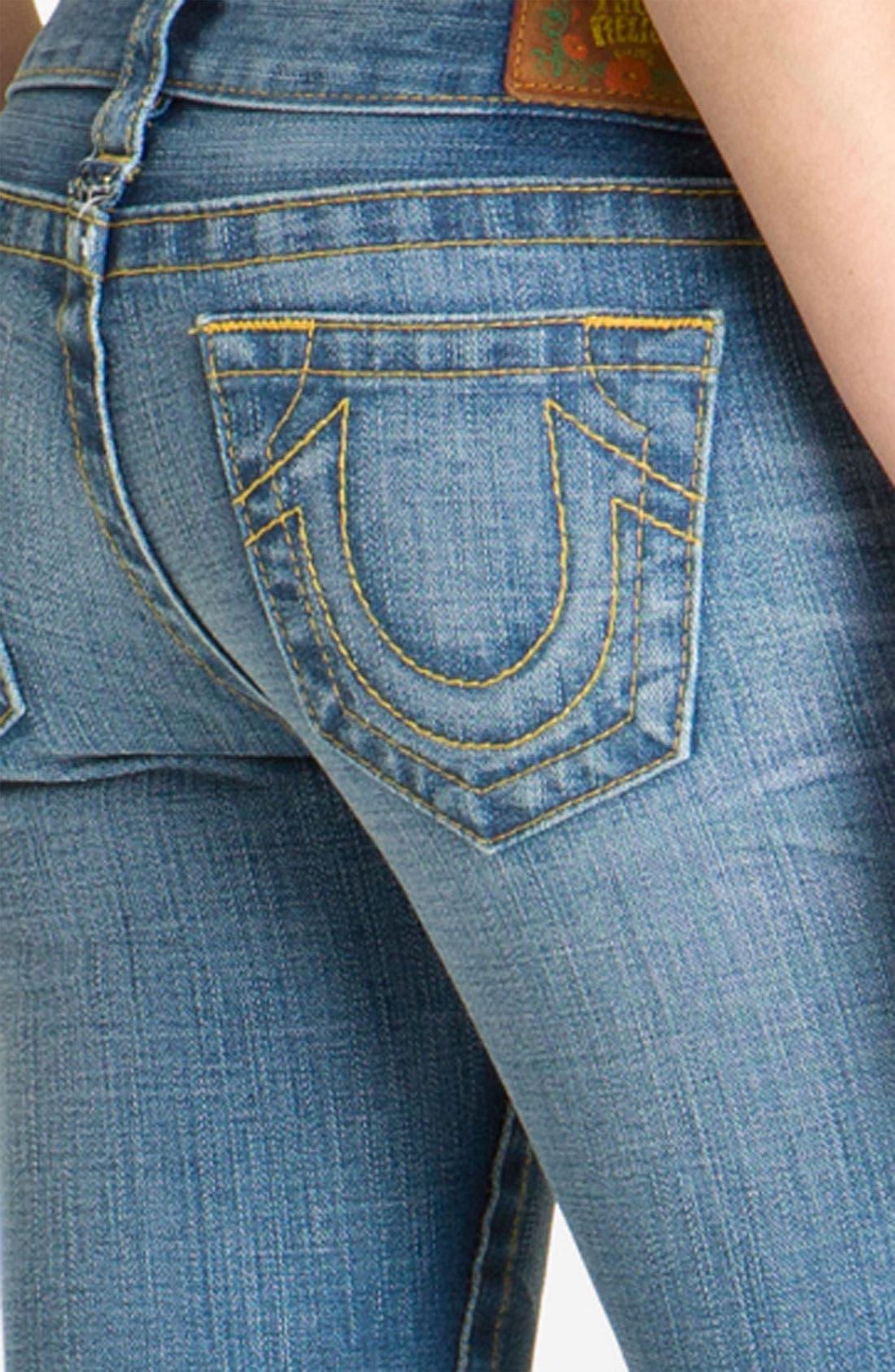 Alternate Image 3  - True Religion Brand Jeans 'Bobby' Flare Leg Jeans (Arlington)