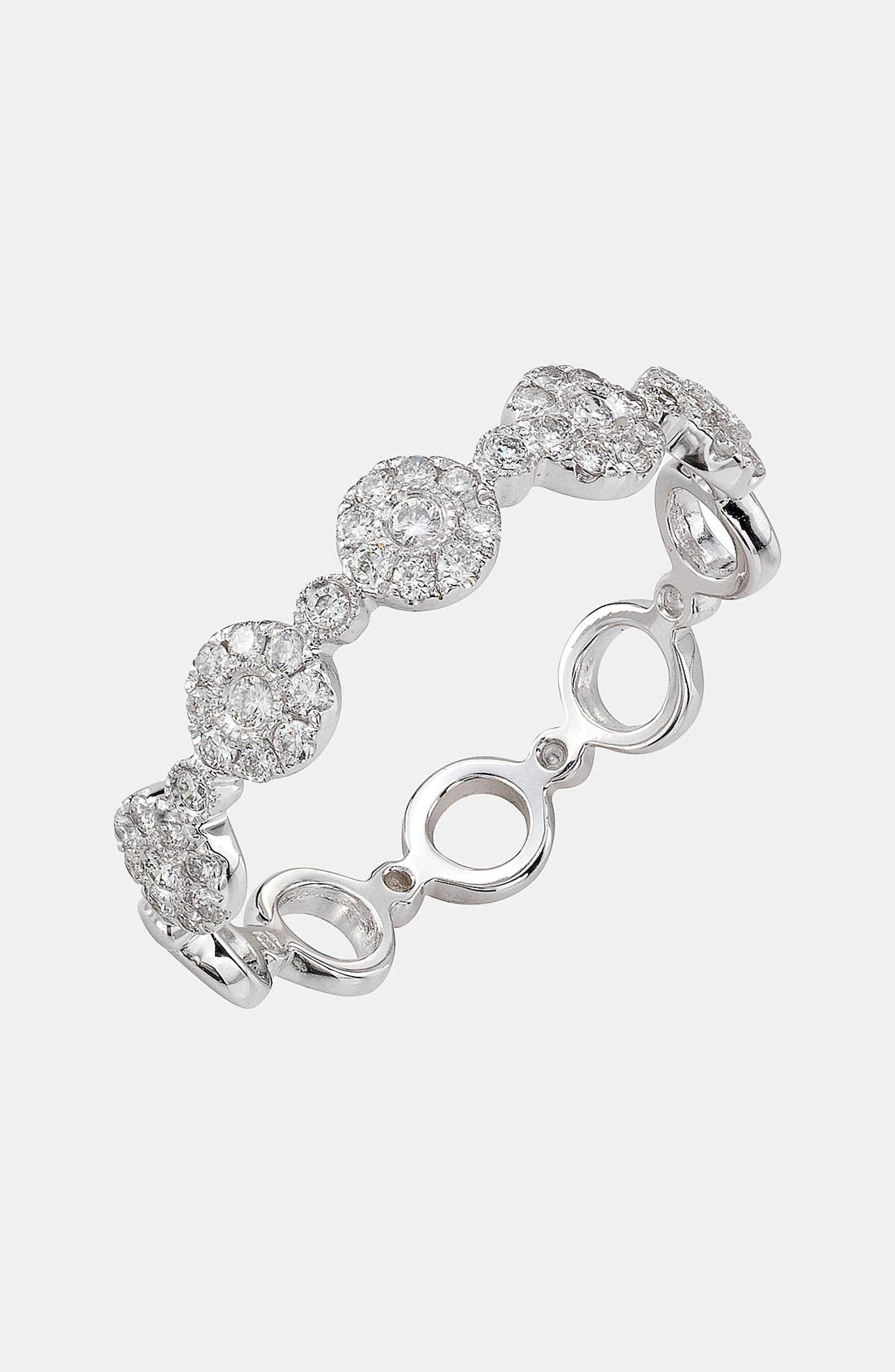 Main Image - Bony Levy Adina Stackable Round Diamond Ring (Nordstrom Exclusive)