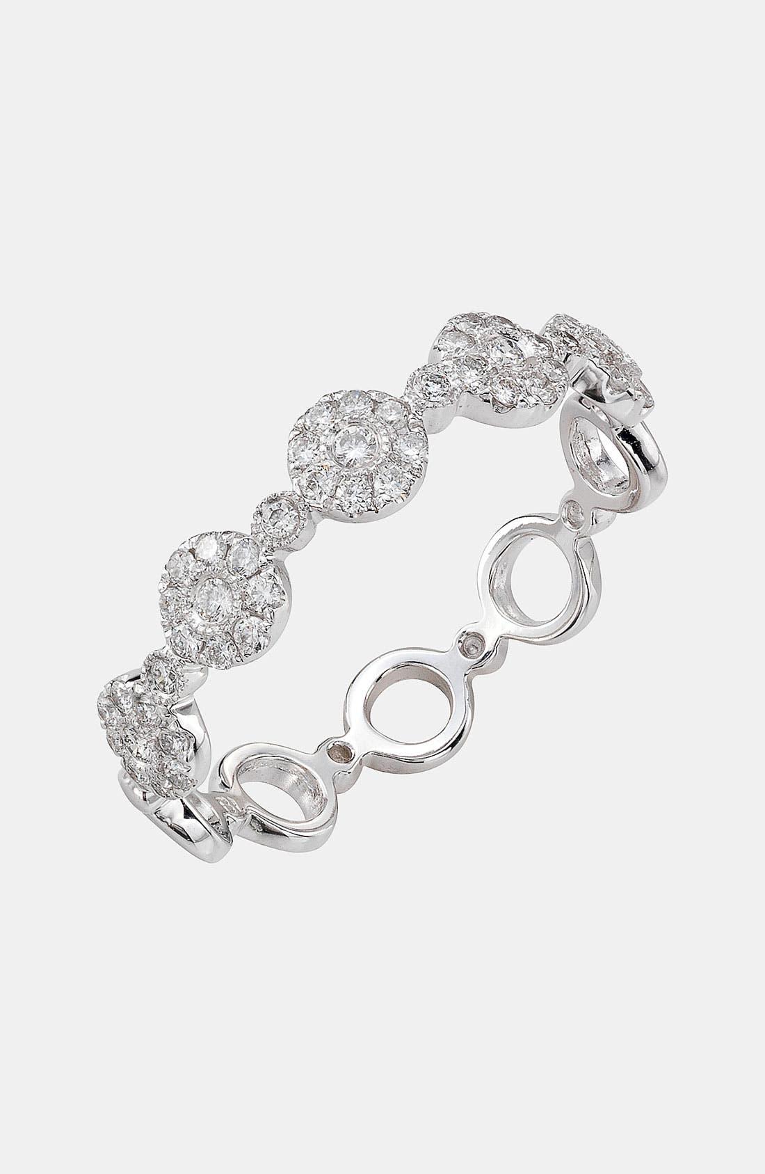 Bony Levy Adina Stackable Round Diamond Ring (Nordstrom Exclusive)
